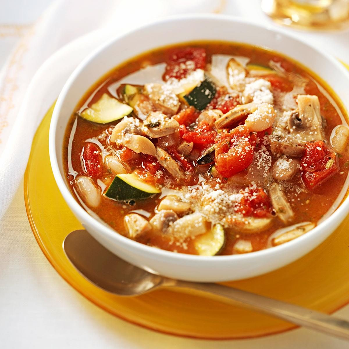 Italian Chicken Sausage Soup Recipe Taste Of Home
