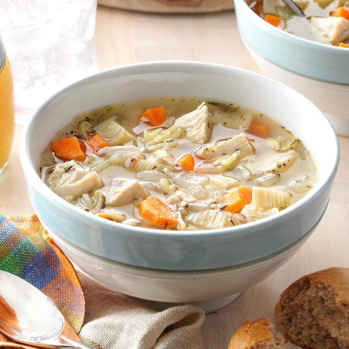 Italian Chicken Soup Recipe | Taste of Home