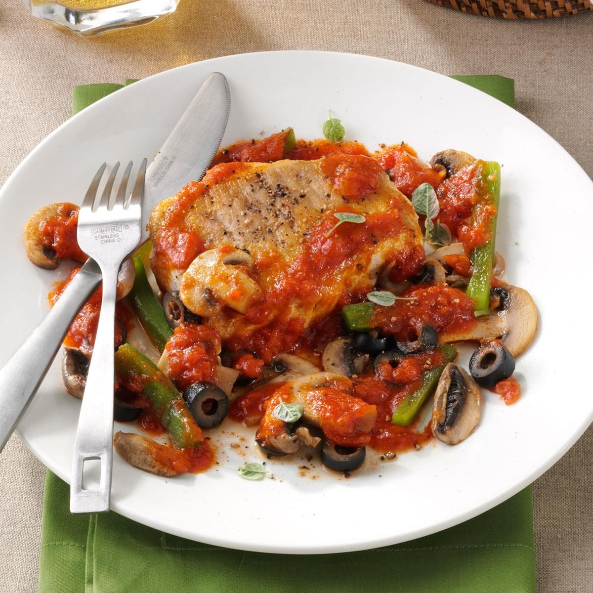 Italian-Style Pork Chops Recipe | Taste of Home