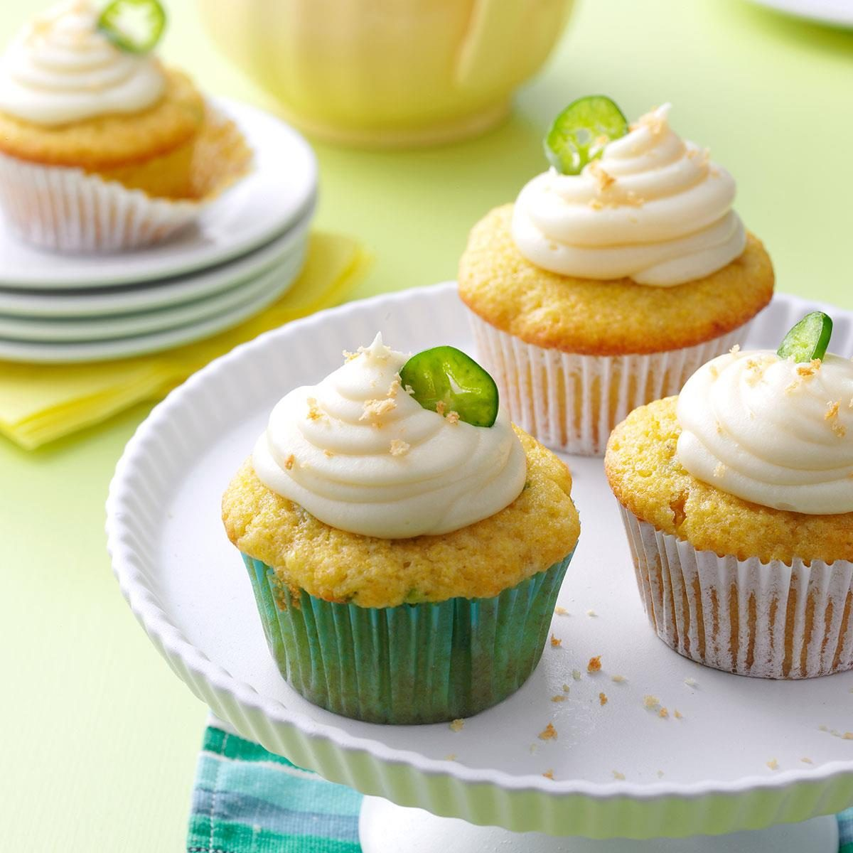 Jalapeno Popper Corn Cupcakes Recipe | Taste of Home