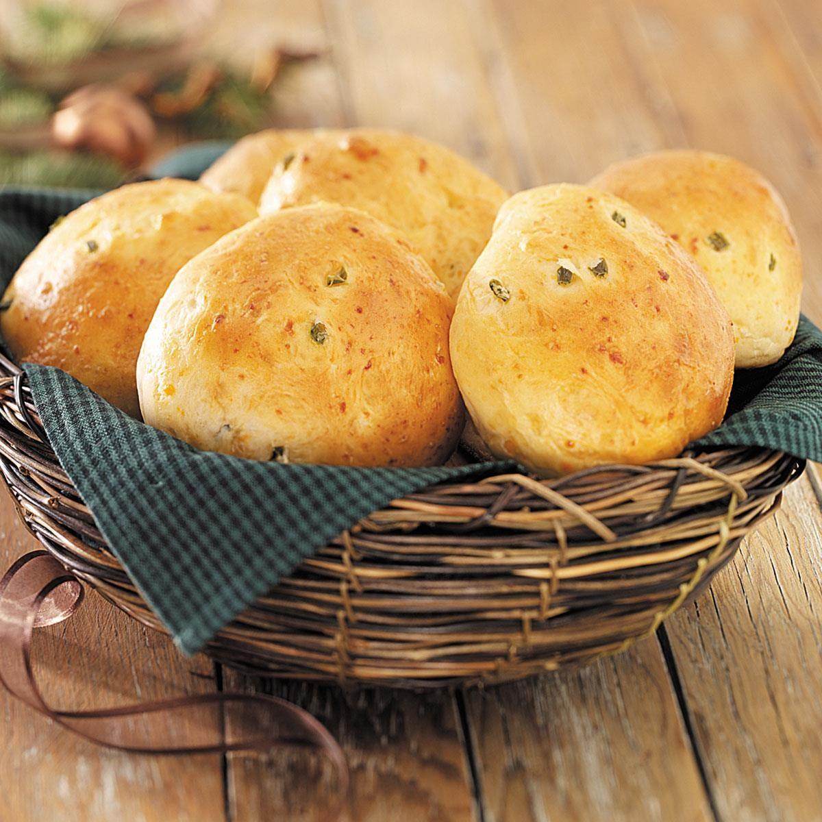 Jumbo Jalapeno Cheddar Rolls Recipe | Taste of Home  Jalapeno