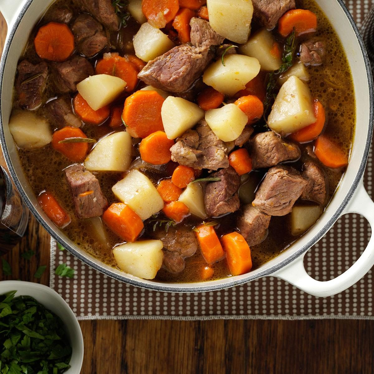 Lamb Stew Recipe Lamb Stew Recipe Taste Of Home