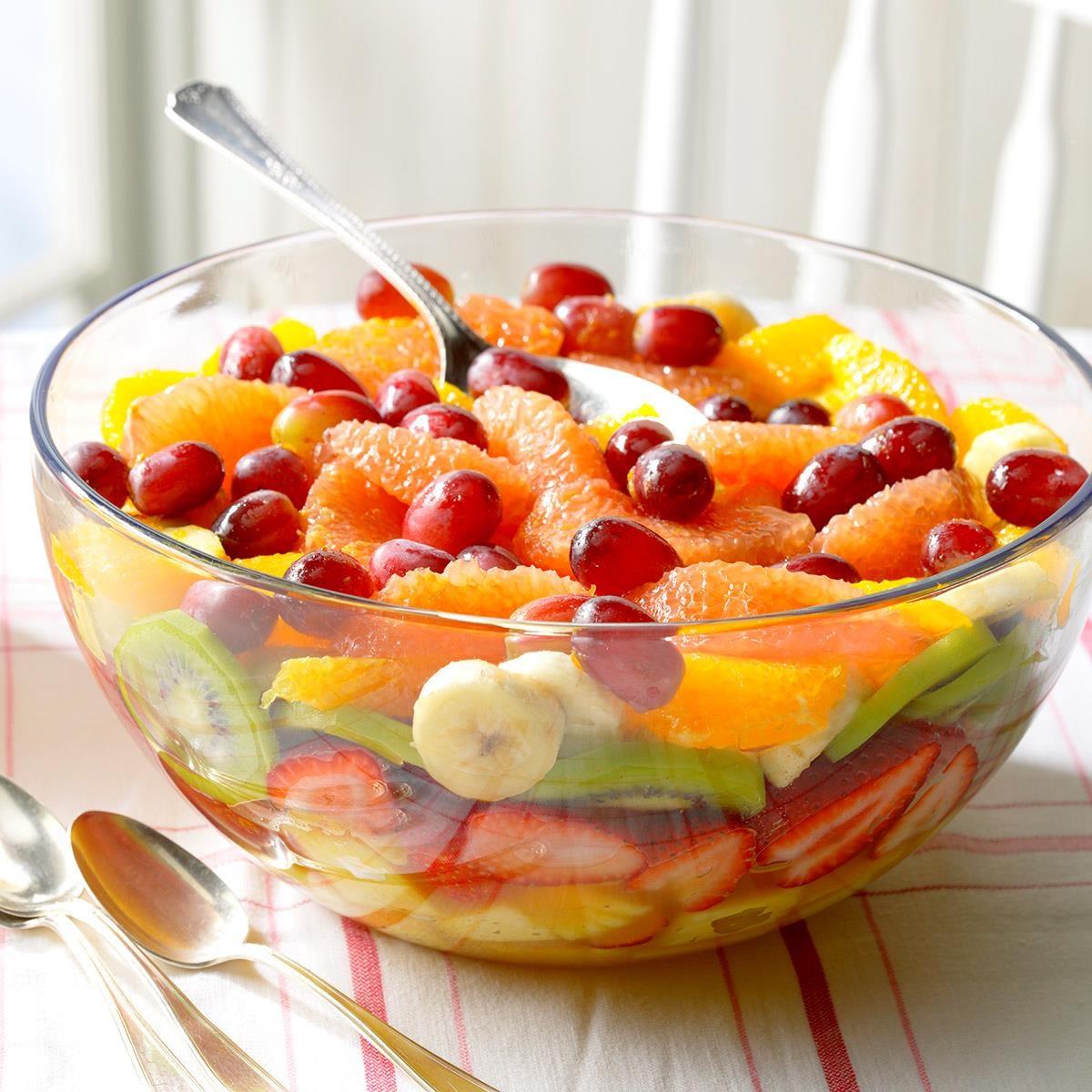 Ingredient Fruit Salad Cake