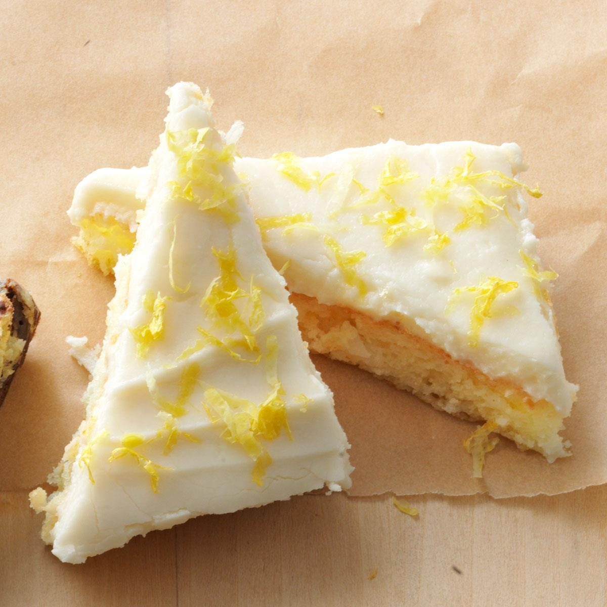 Taste Of Home Lemon Cake Bars