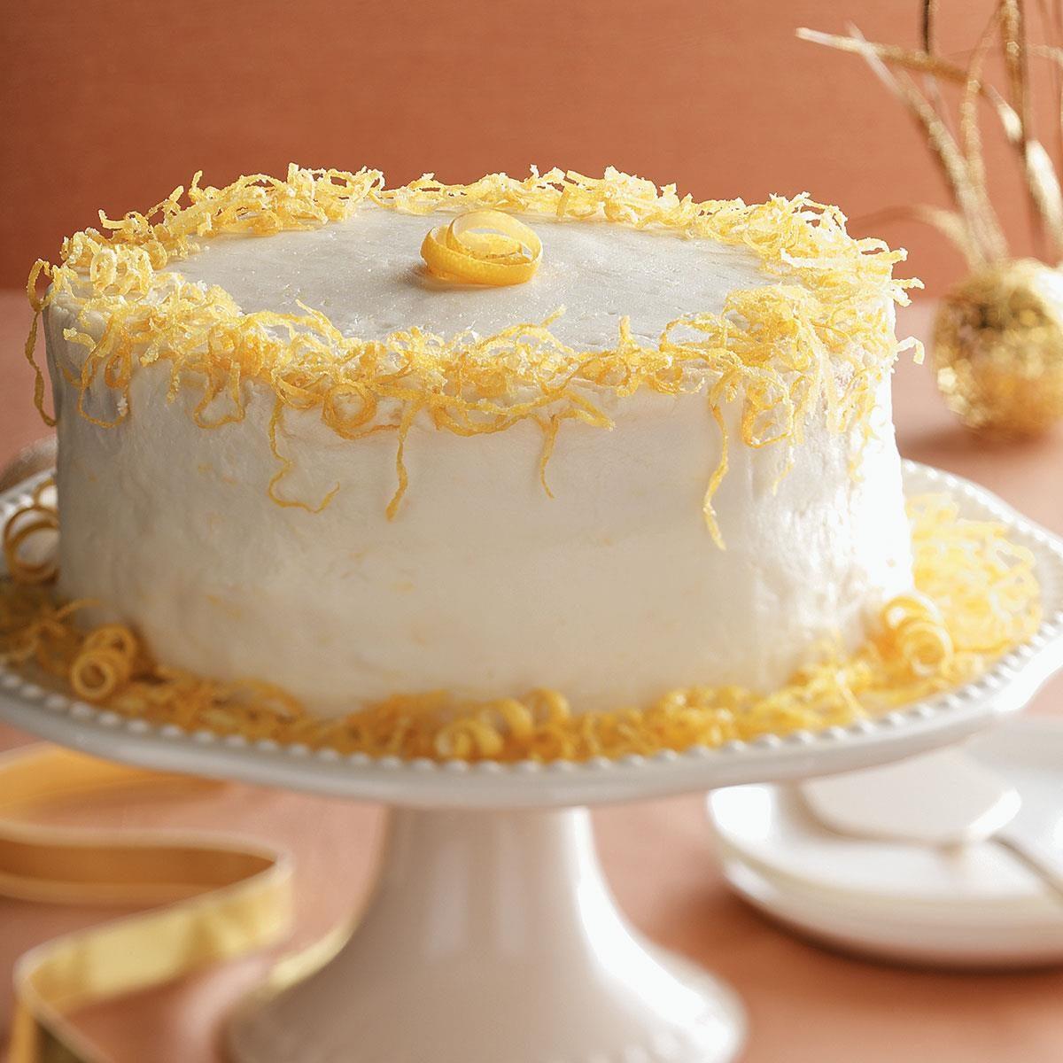 Lemon Ricotta Cake Recipe Taste Of Home