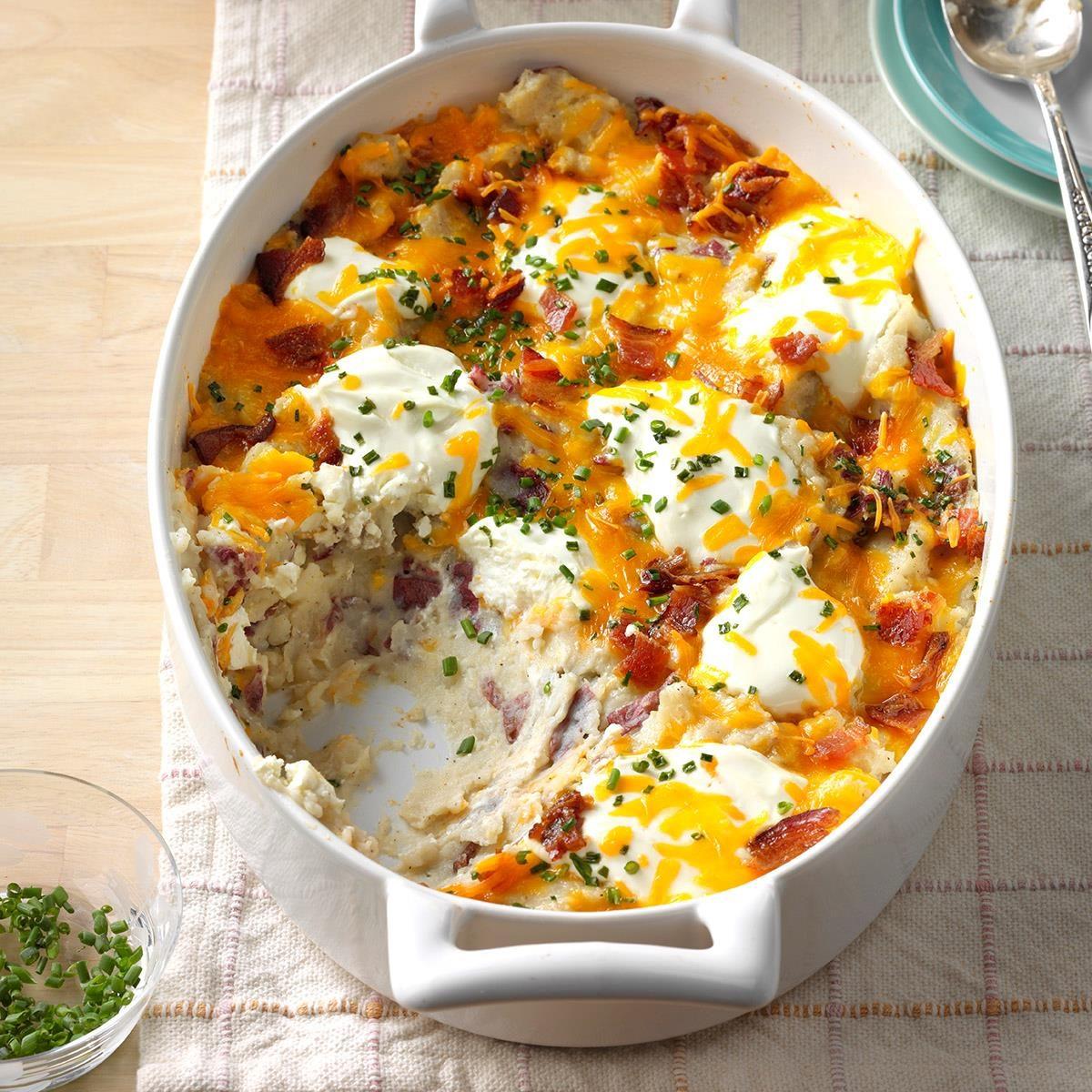 Loaded Breakfast Casserole: Loaded Red Potato Casserole Recipe