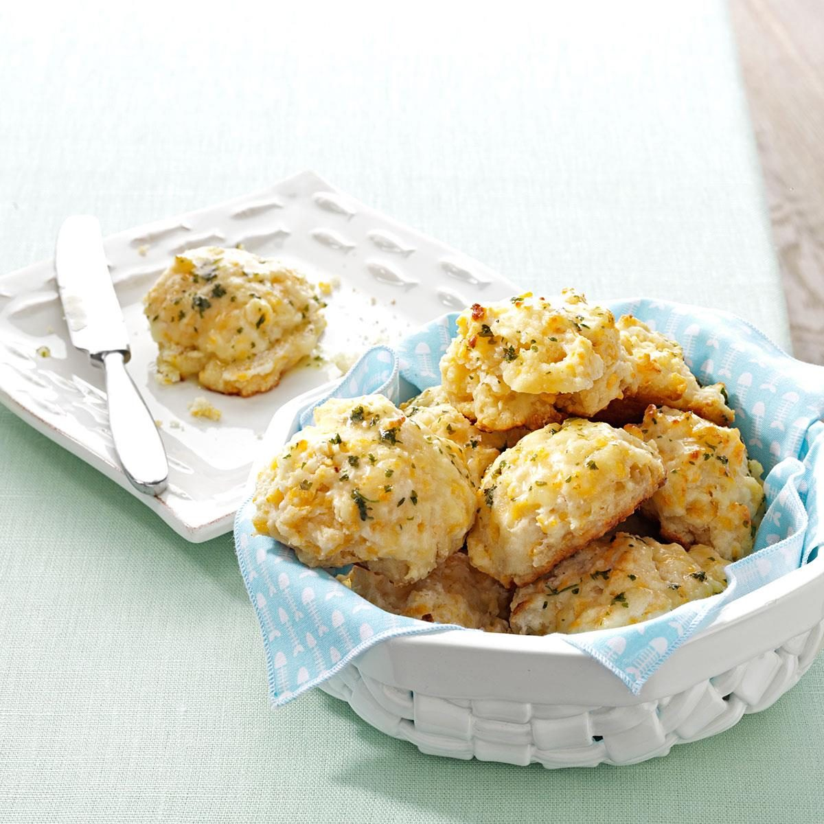 Makeover Cheddar Biscuits Recipe | Taste of Home