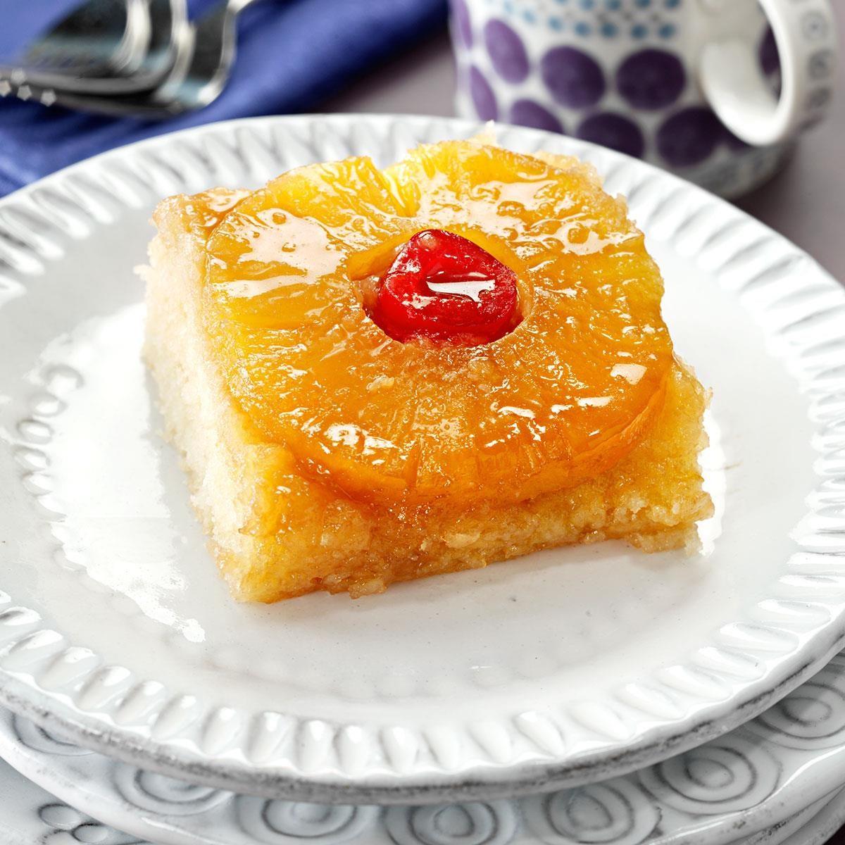 Quick Easy Pineapple Cake