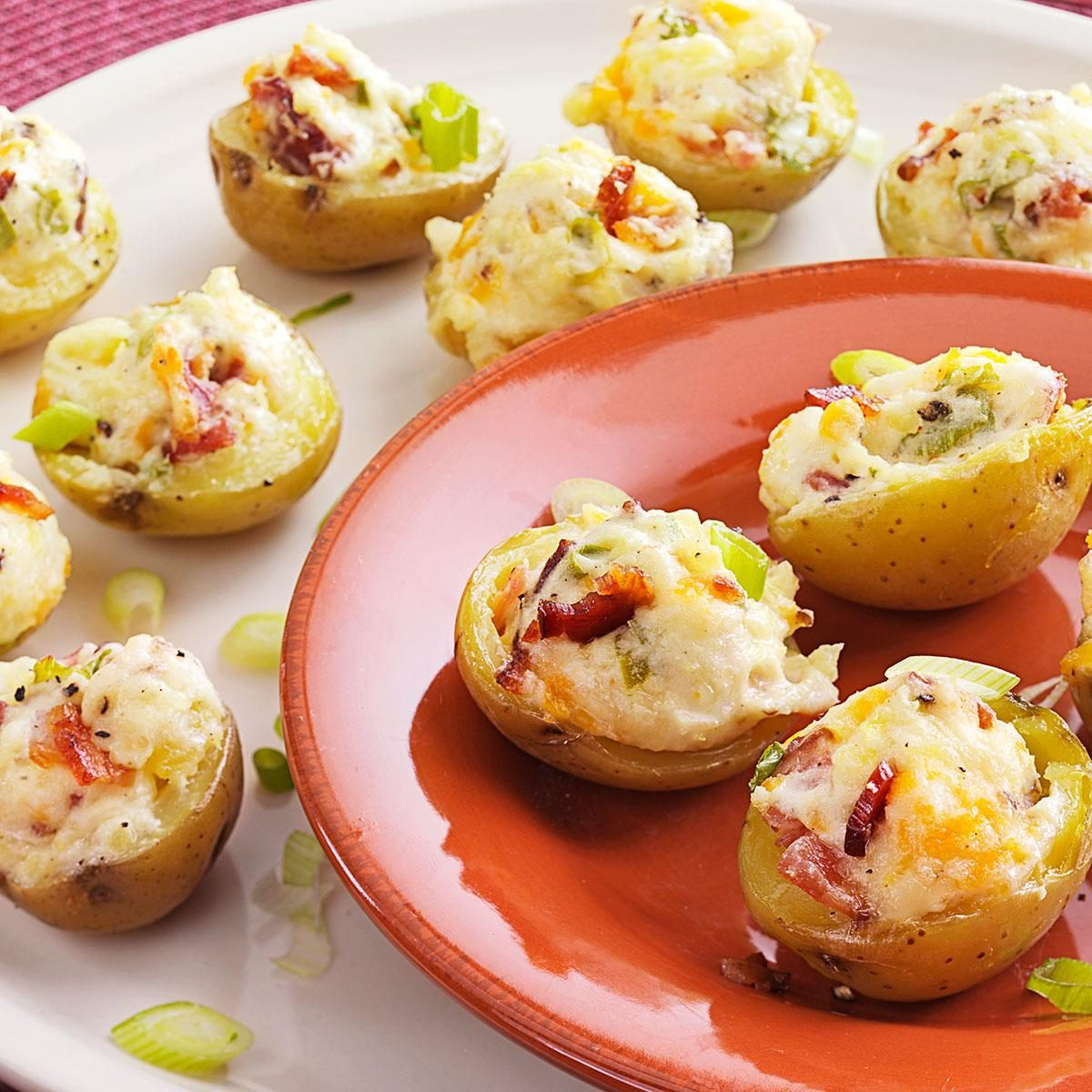 Makeover Stuffed Potato Appetizers Recipe
