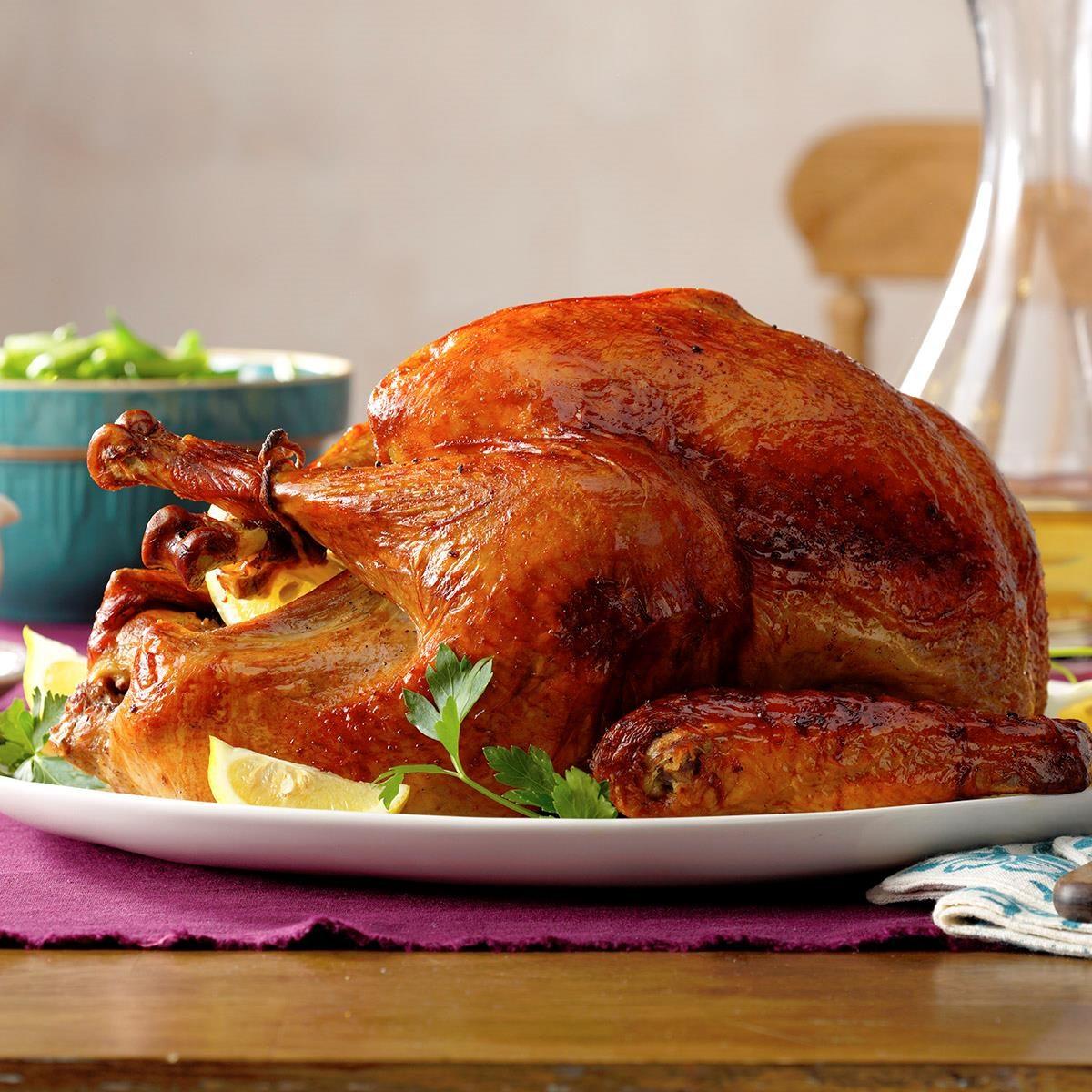 Marinated Thanksgiving Turkey Recipe