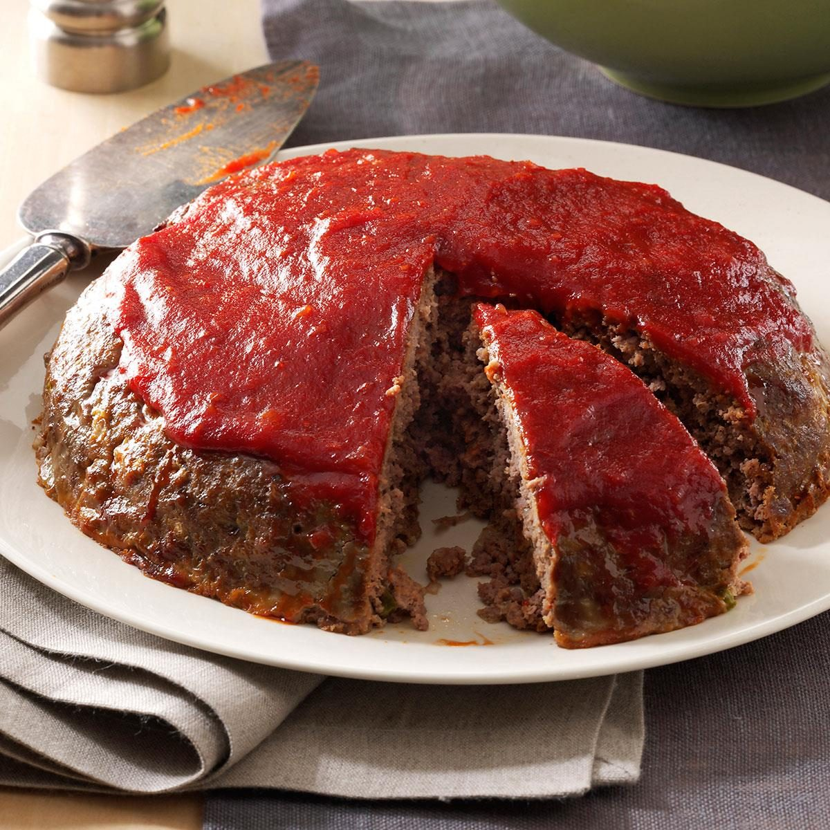 Meat Loaf With Chili Sauce Recipe