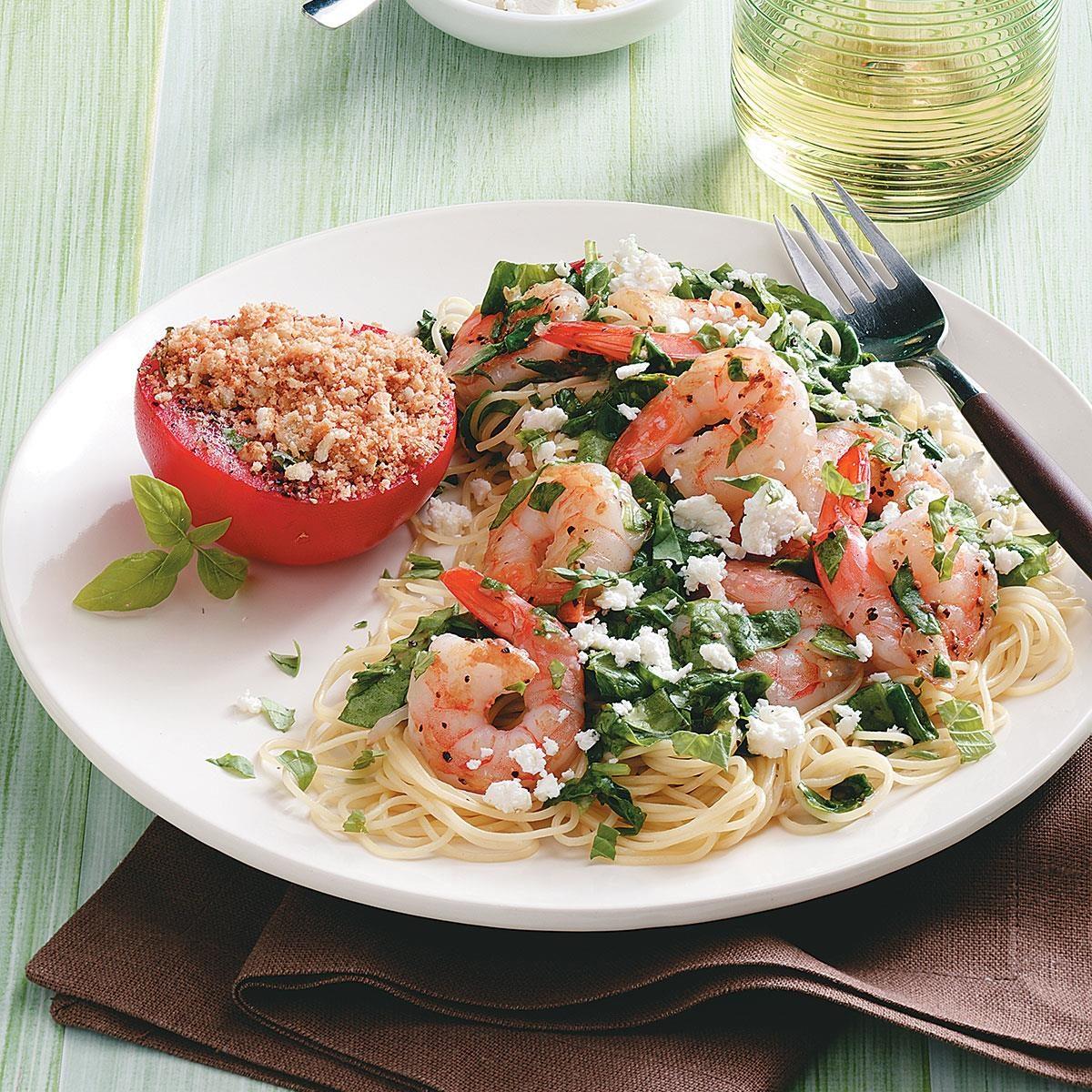 Mediterranean Style Recipes: Mediterranean Shrimp Skillet Recipe