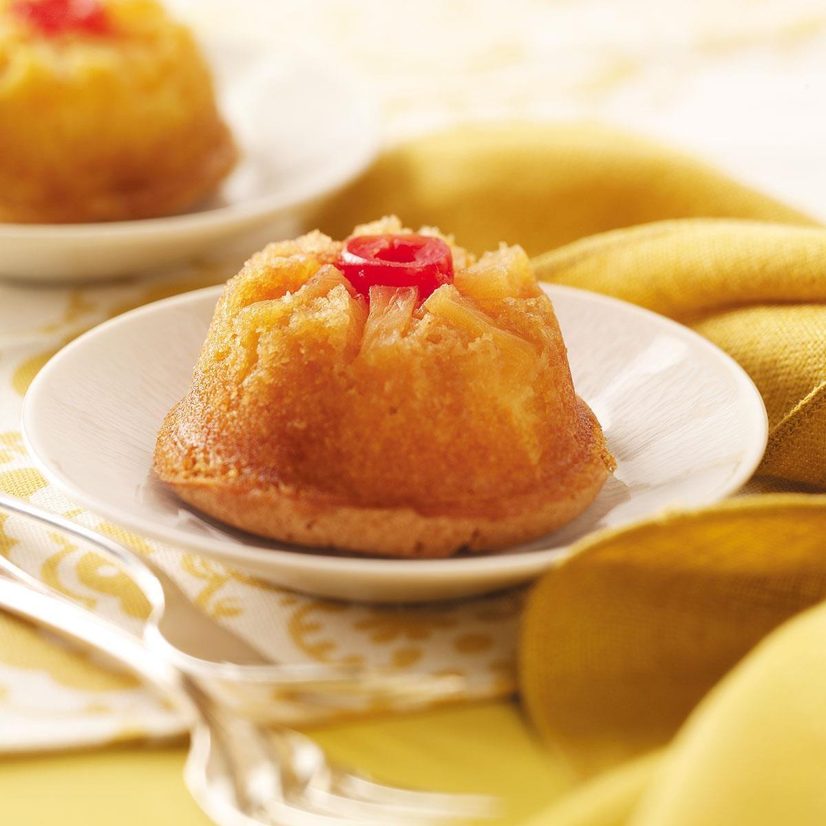 Mini Pineapple Upside Down Cakes Recipe Taste Of Home