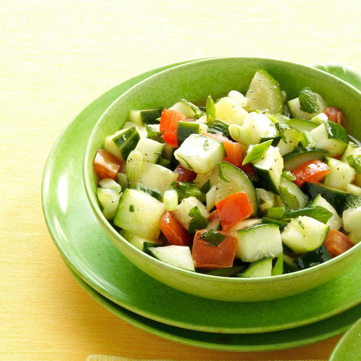 Minted Chicken Salad