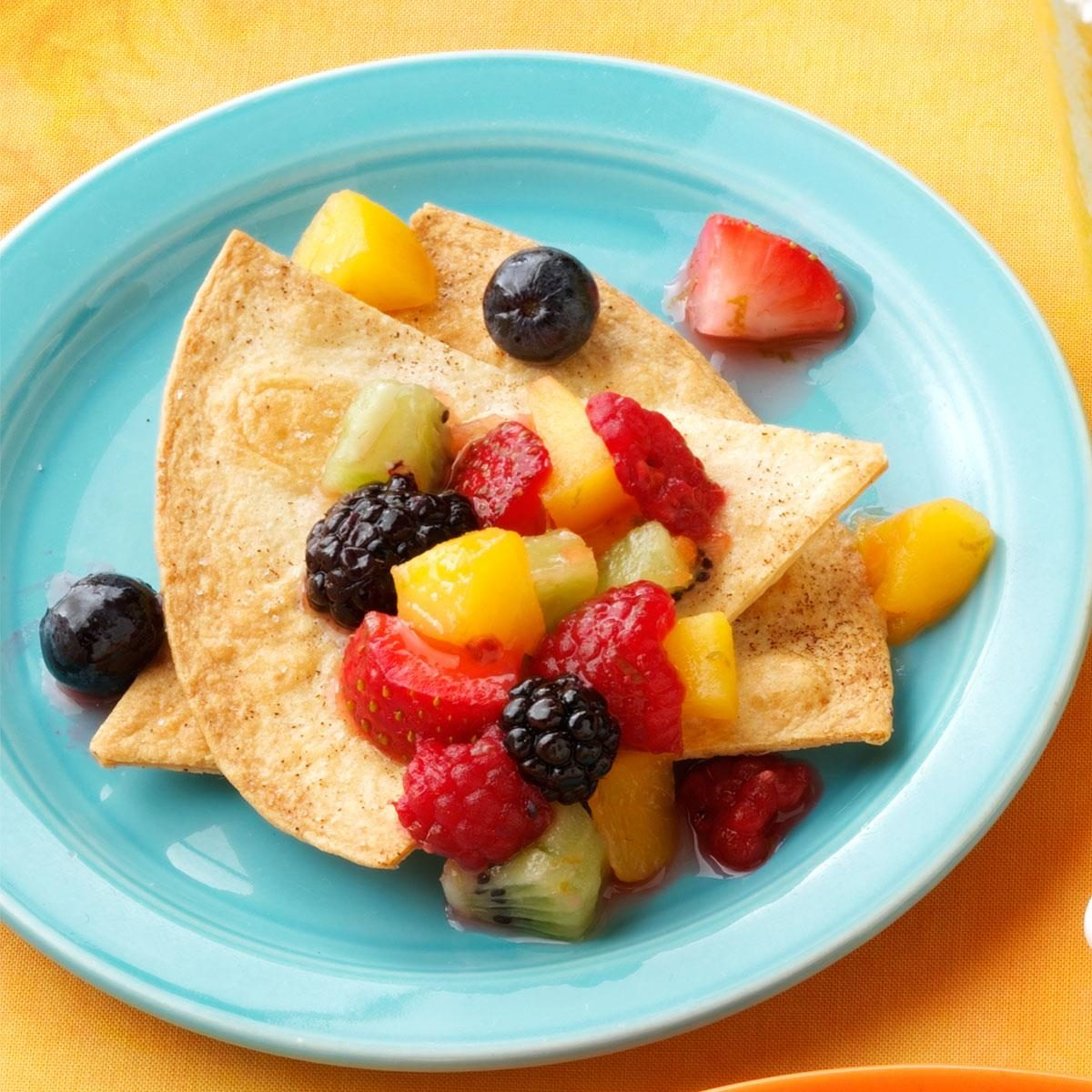 Mixed Fruit Salsa Recipe | Taste of Home