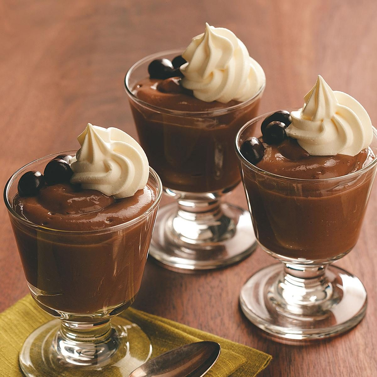 Mochaccino Pudding Recipe Taste Of Home