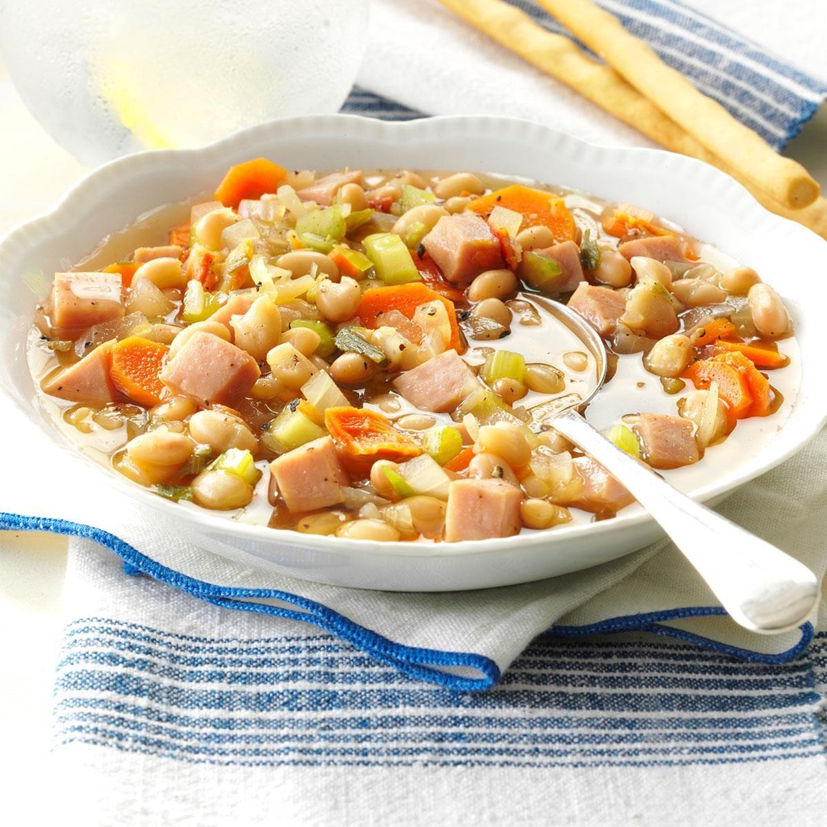 Navy Bean Vegetable Soup Recipe