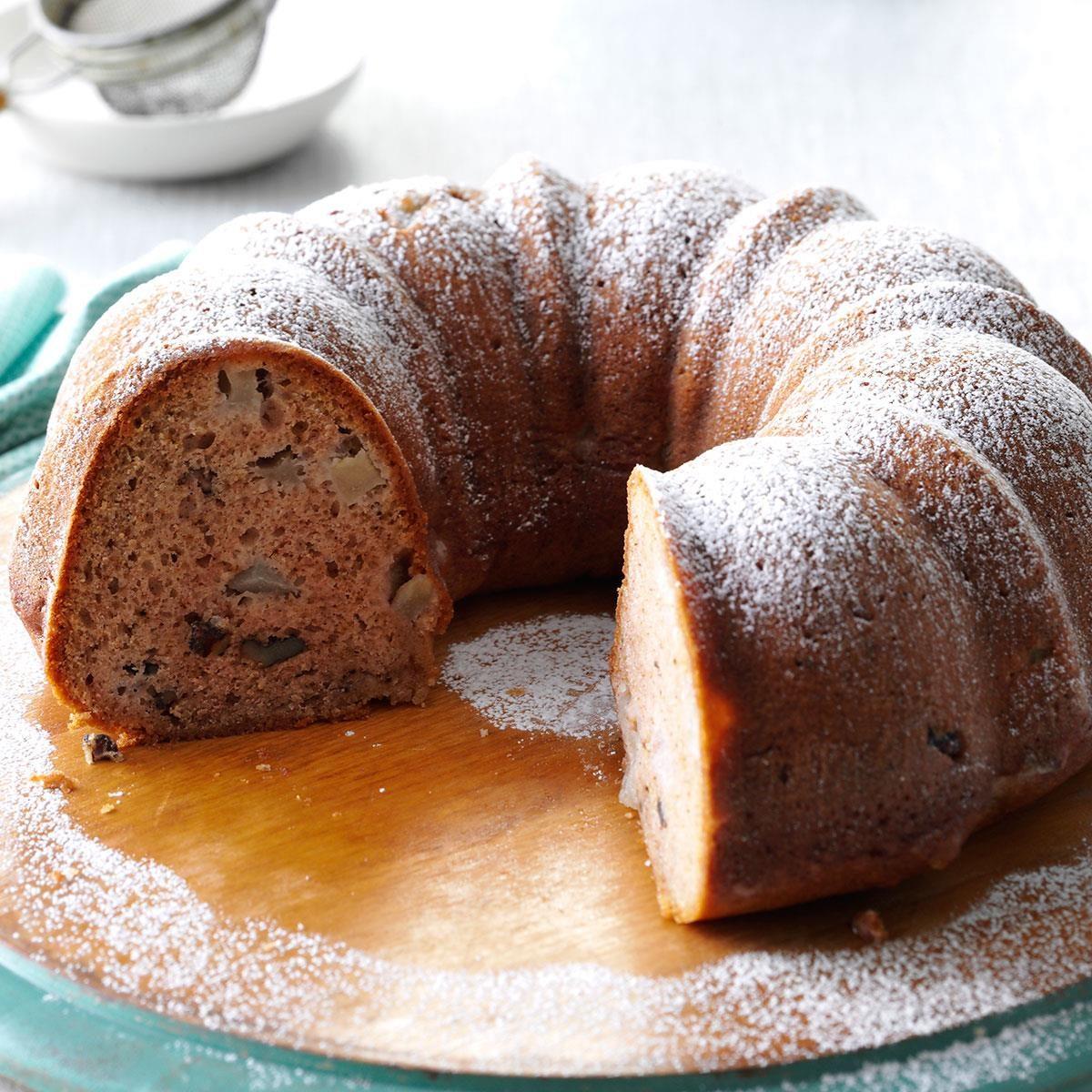 Old-Fashioned Pear Cake Recipe | Taste of Home