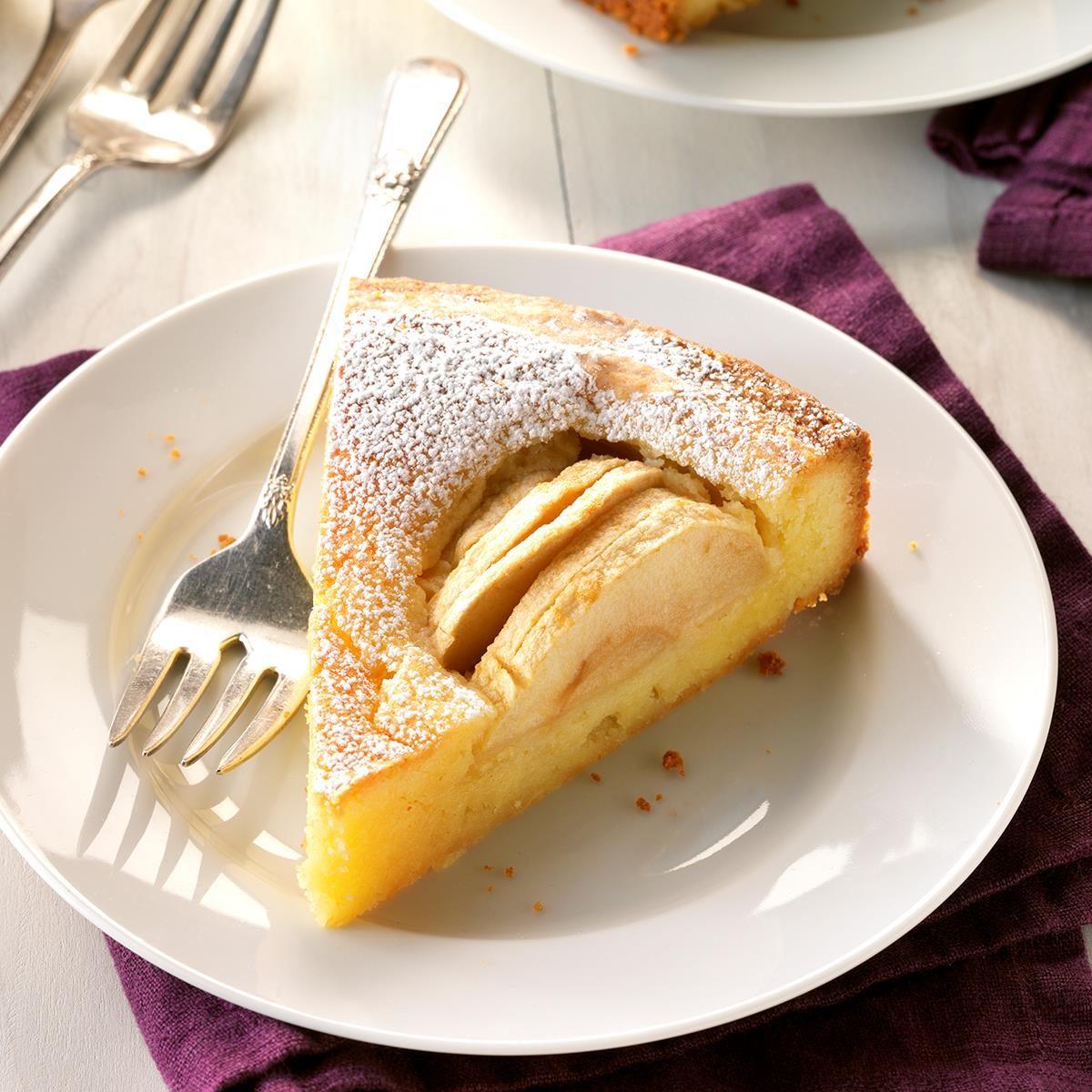 Oma S Apfelkuchen Grandma S Apple Cake Recipe Taste Of Home