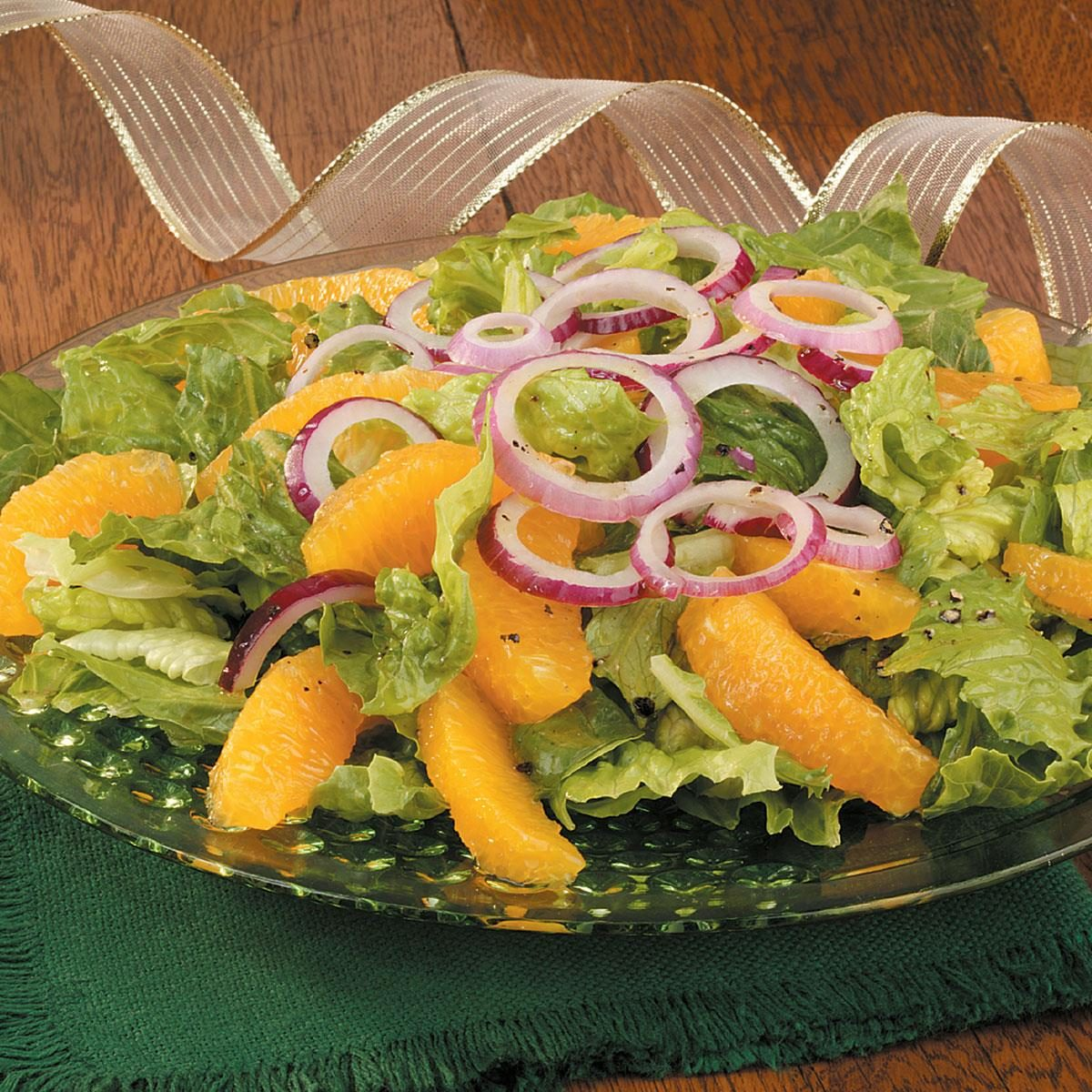 Orange and Red Onion Salad Recipe | Taste of Home