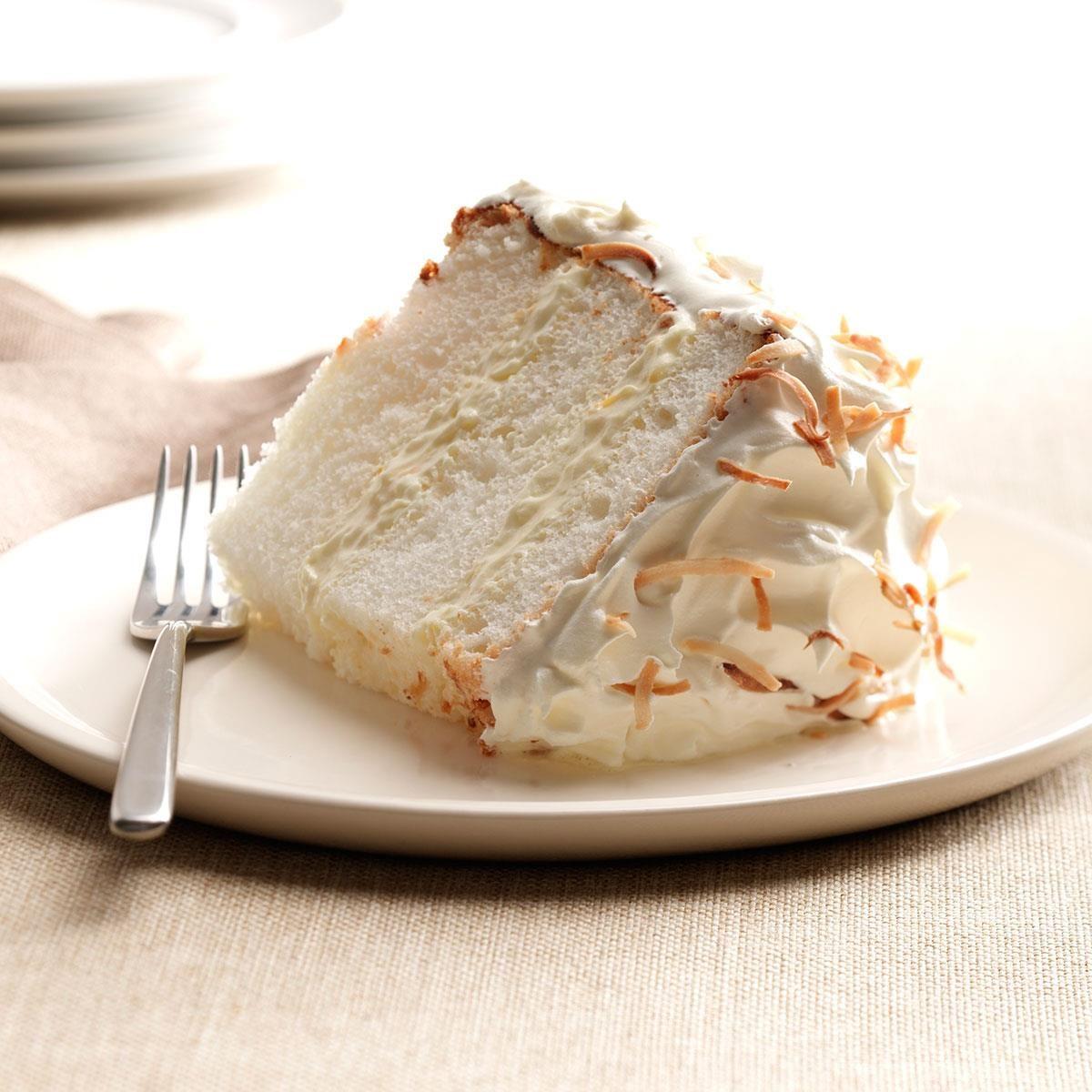 My Cake Art Elizabethton Tn : Orange-Coconut Angel Food Cake Recipe Taste of Home