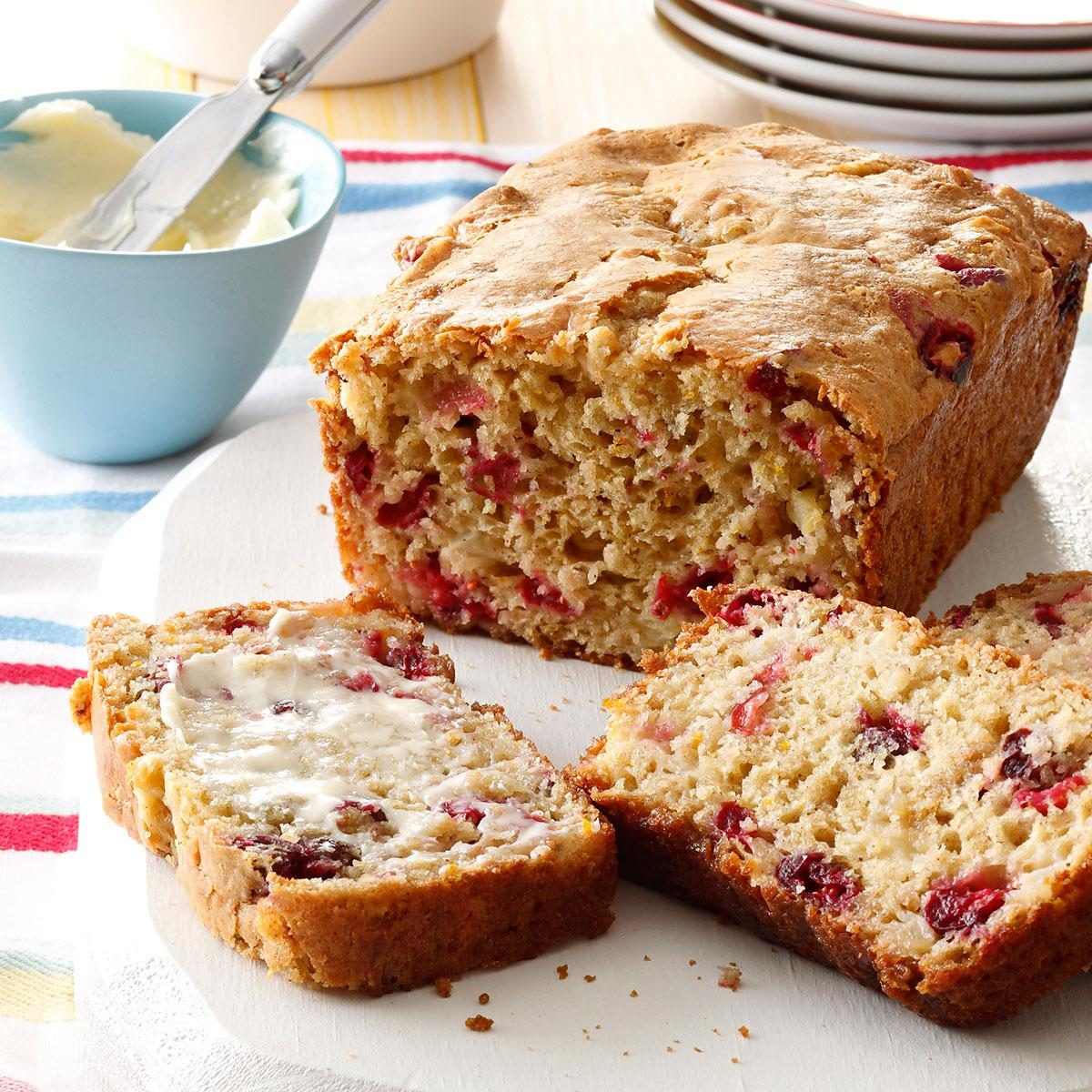 Orange Cranberry Bread Recipe | Taste of Home