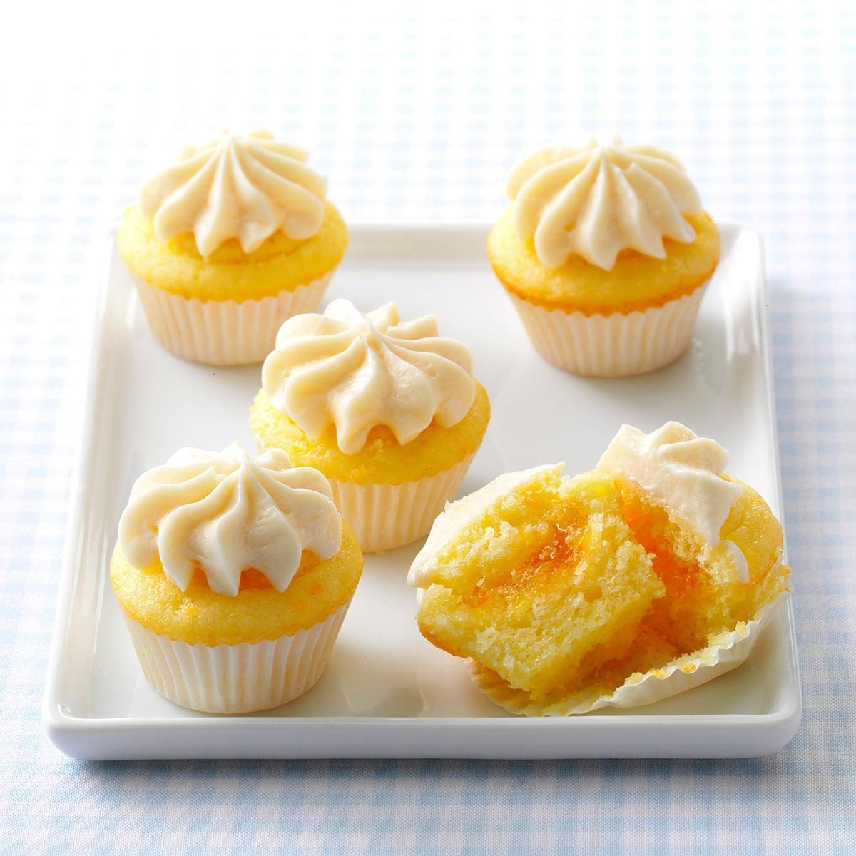 dream cakes wedding cake cupcake recipe orange mini cupcakes recipe taste of home 13724