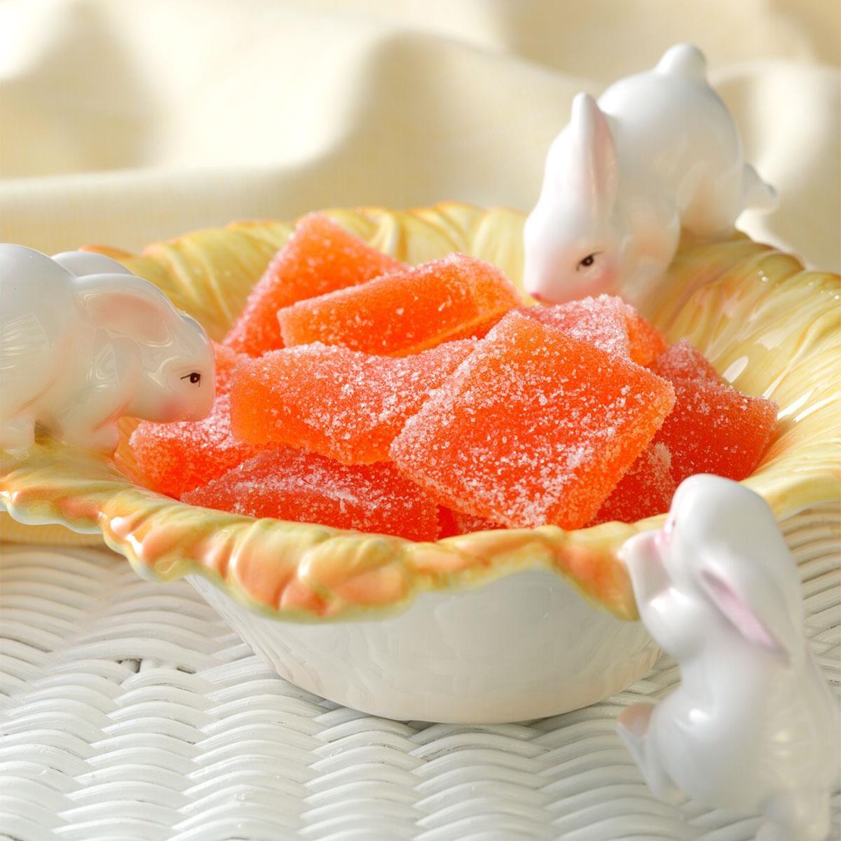 Chocolate Orange Peels Dunmore Candy Kitchen: Orange Jelly Candies Recipe