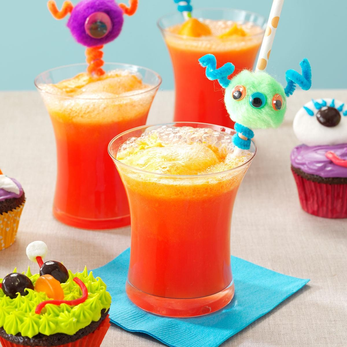 orange sherbet party punch recipe taste of home - Halloween Party Punch Alcohol
