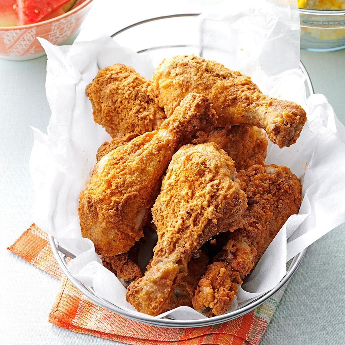 Oven Fried Chicken Drumsticks Recipe Taste Of Home