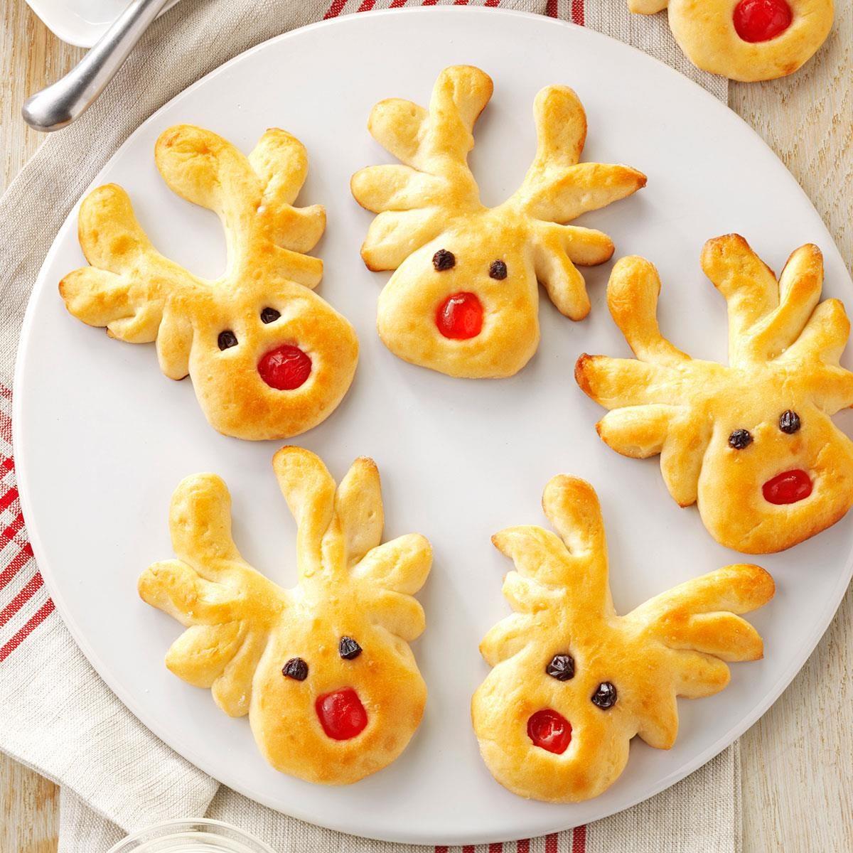 overnight reindeer rolls recipe taste of home