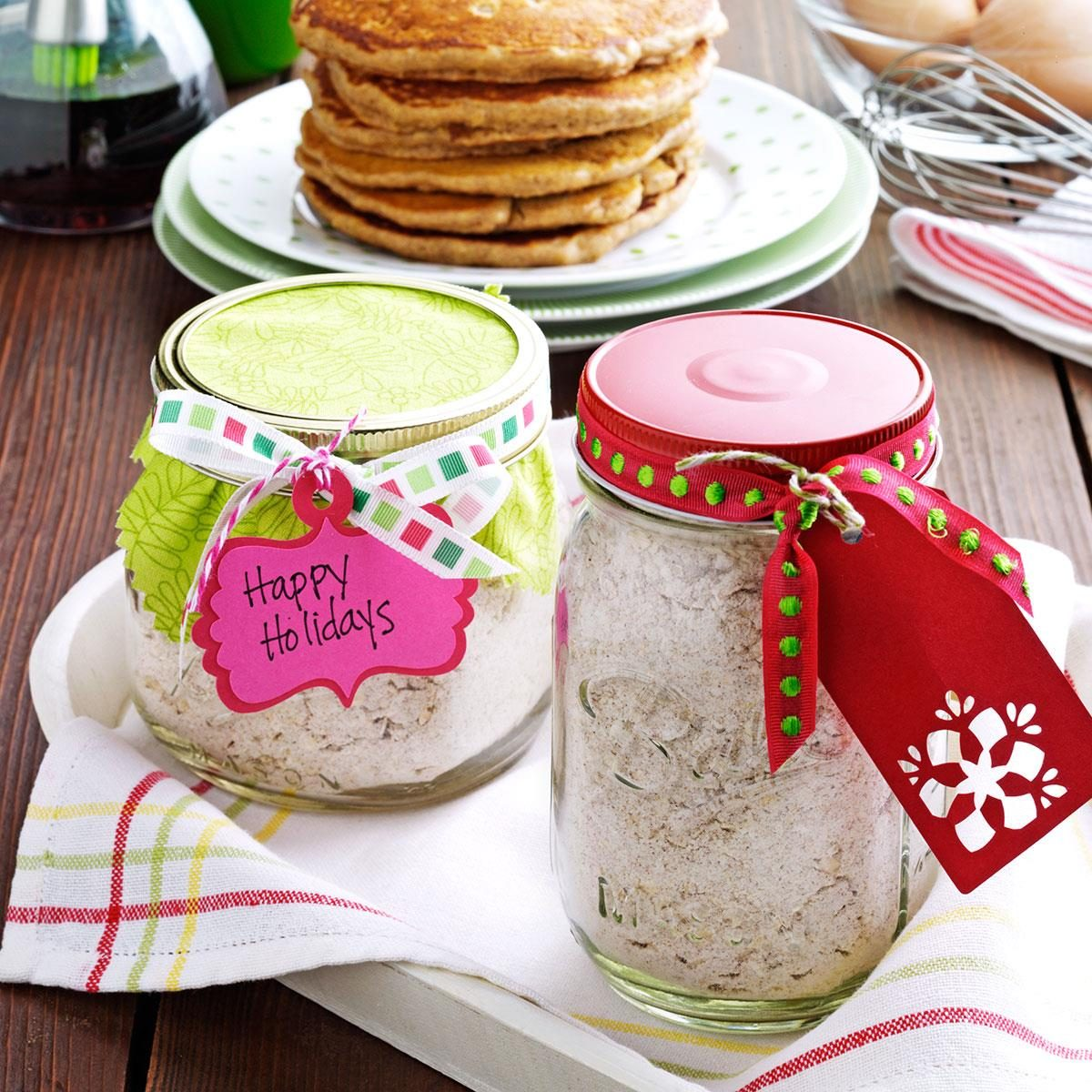 Gift wrapping ideas for home made baked goods - Pancakes From The Pantry