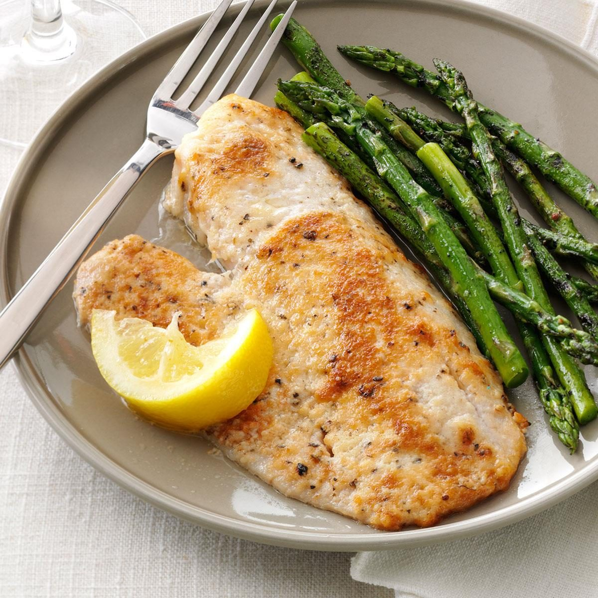Parmesan-Broiled Tilapia Recipe | Taste of Home