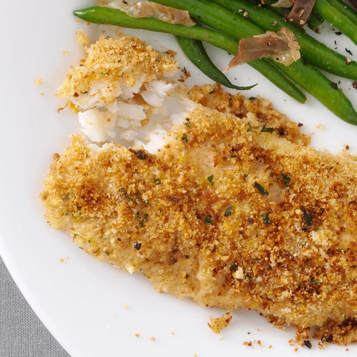 Baked cod fish recipes with breadcrumbs for Baked cod fish recipes