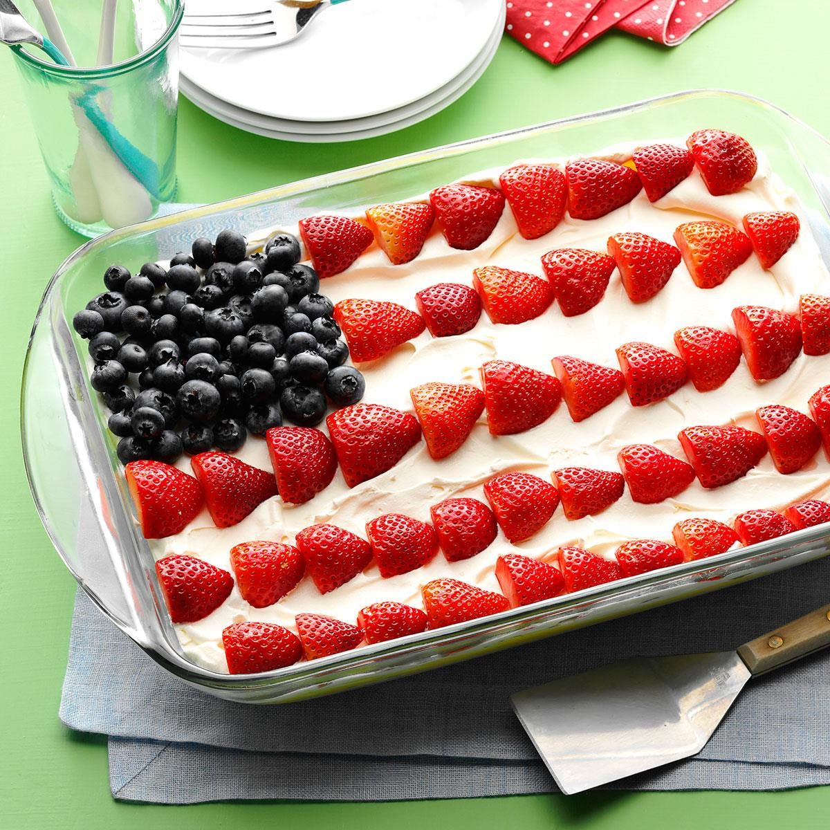 Patriotic Dessert Recipe Taste Of Home