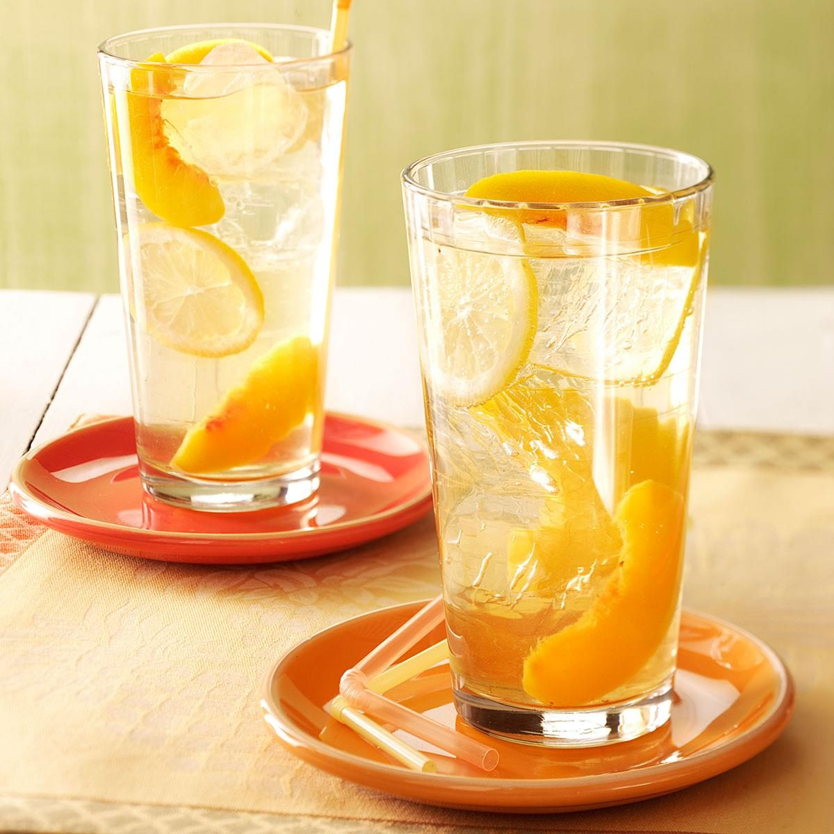 Wine Coolers peach wine coolers recipe | taste of home