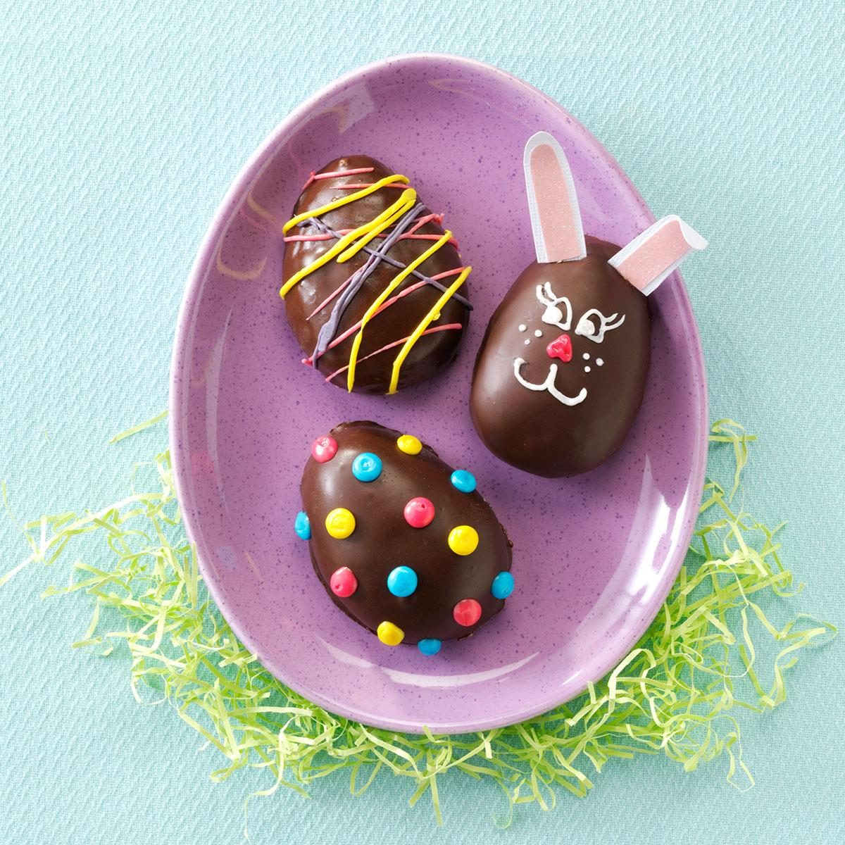 Peanut butter easter eggs recipe taste of home negle Image collections