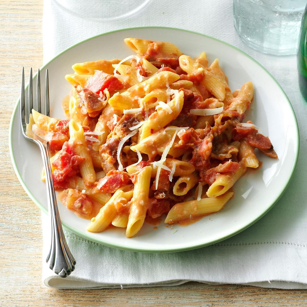 Penne alla Vodka Recipe | Taste of Home