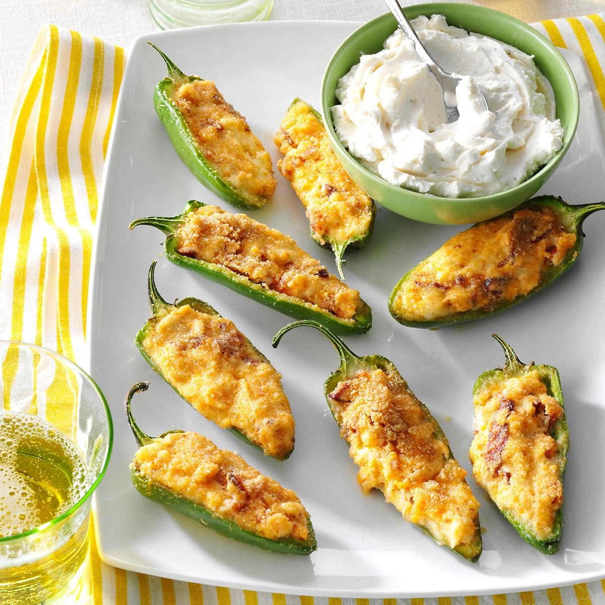 Top 10 appetizer recipes taste of home pepper poppers forumfinder Images