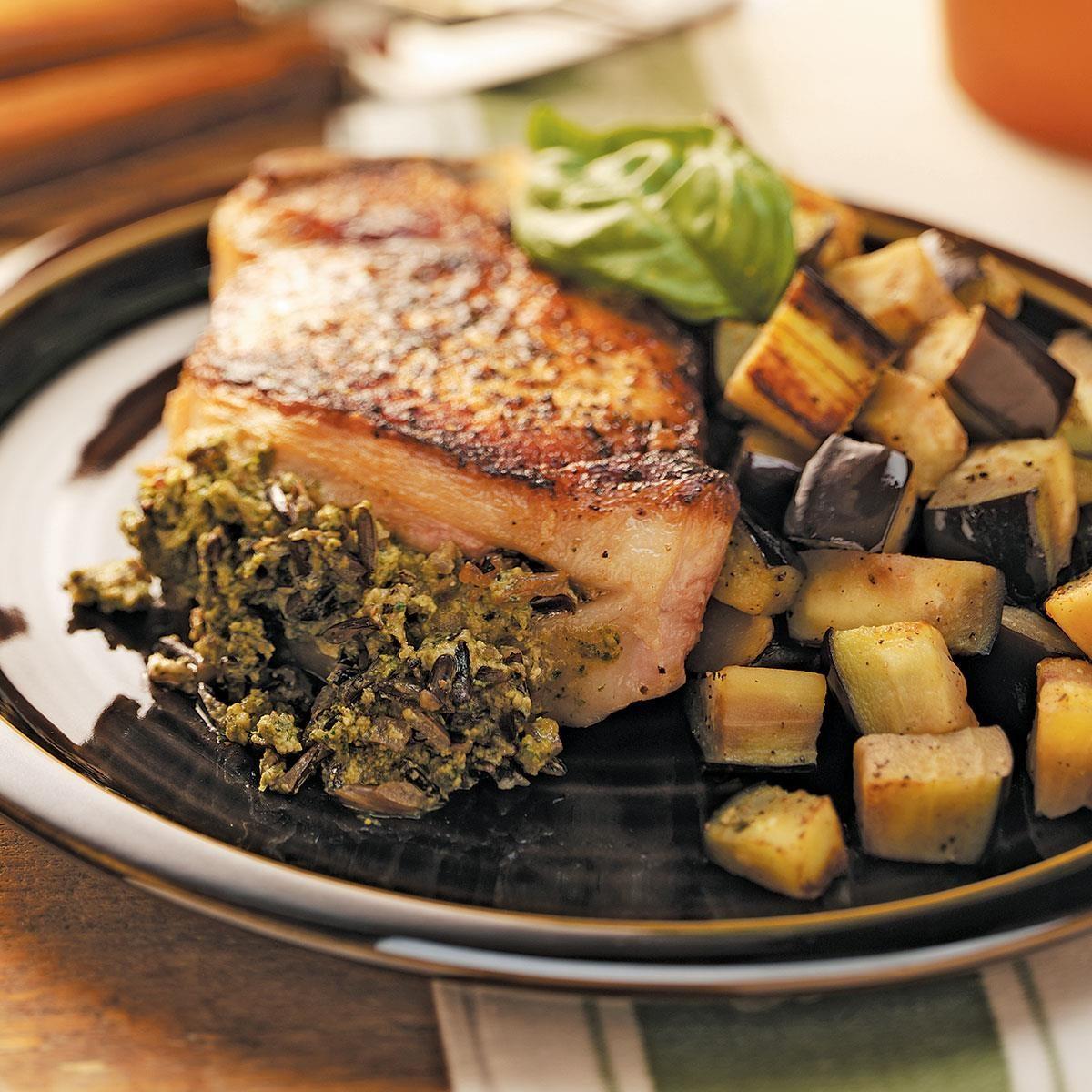 Pork chops recipe and rice