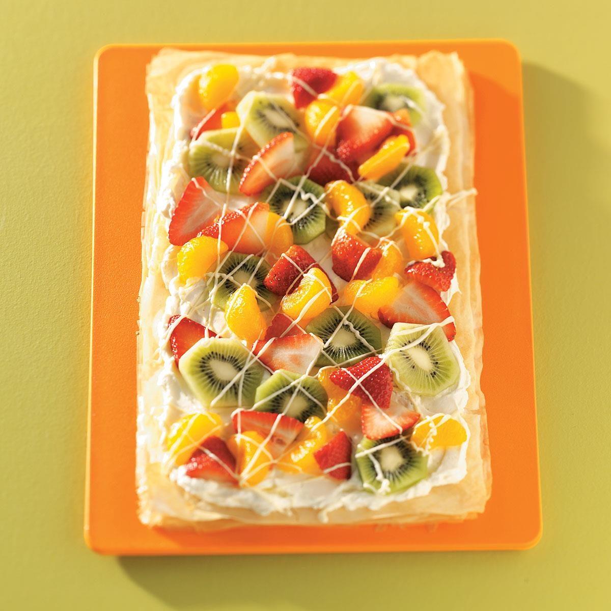 Phyllo Fruit Tart Recipe   Taste of Home