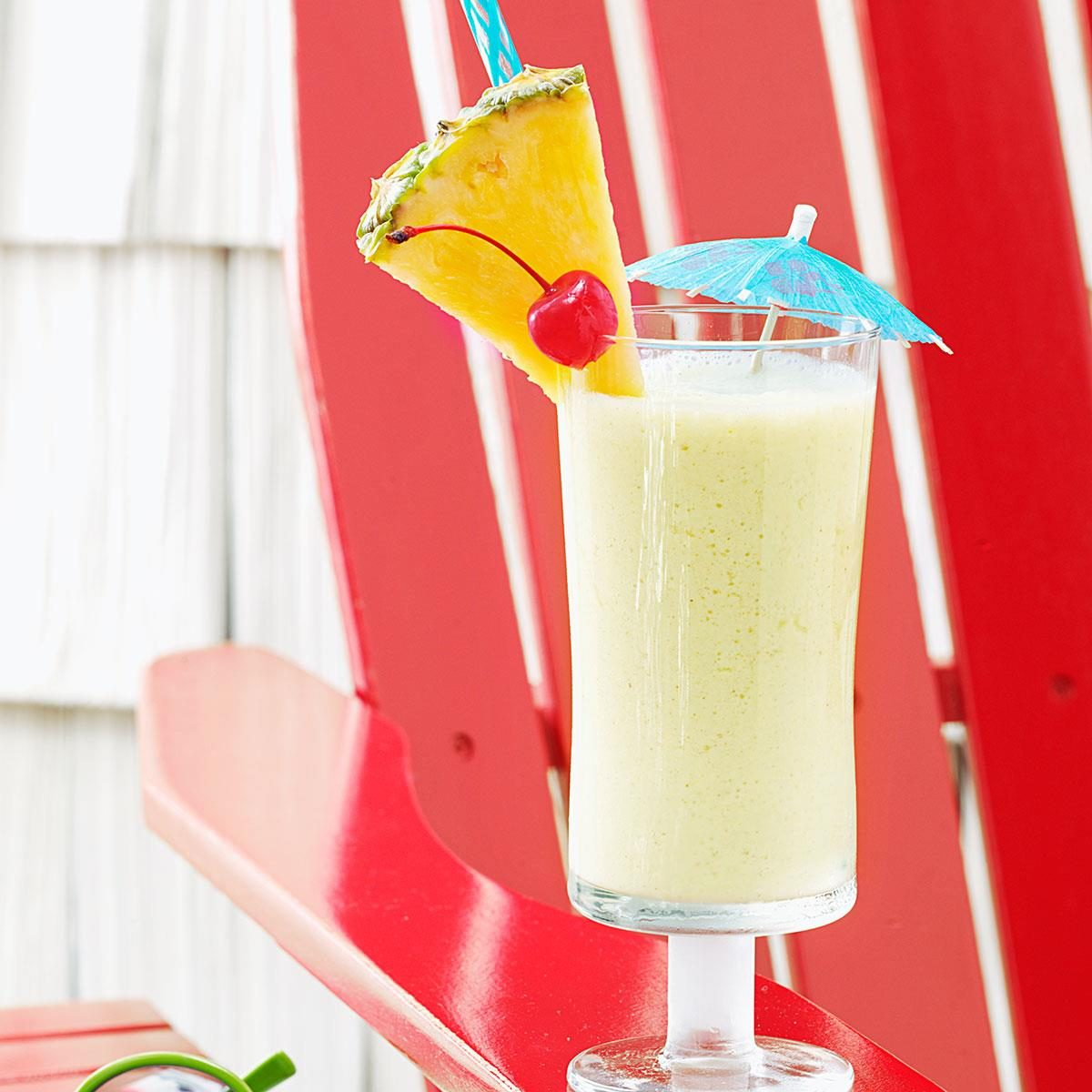 Pool Party Appetizers Ideas a how to construction truck birthday party ay mama Pineapple Colada Shake