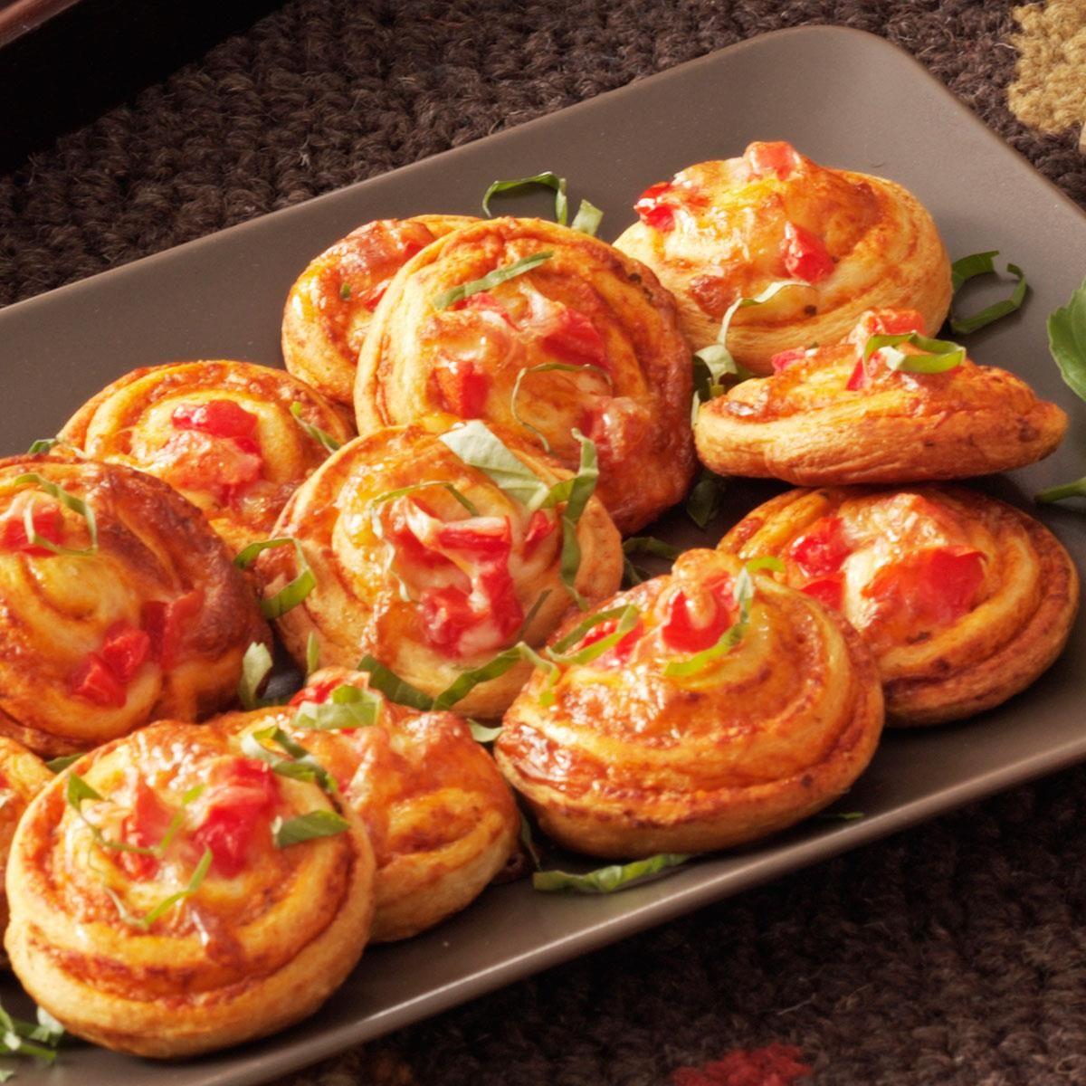 Pinwheel Pizza Snacks Recipe