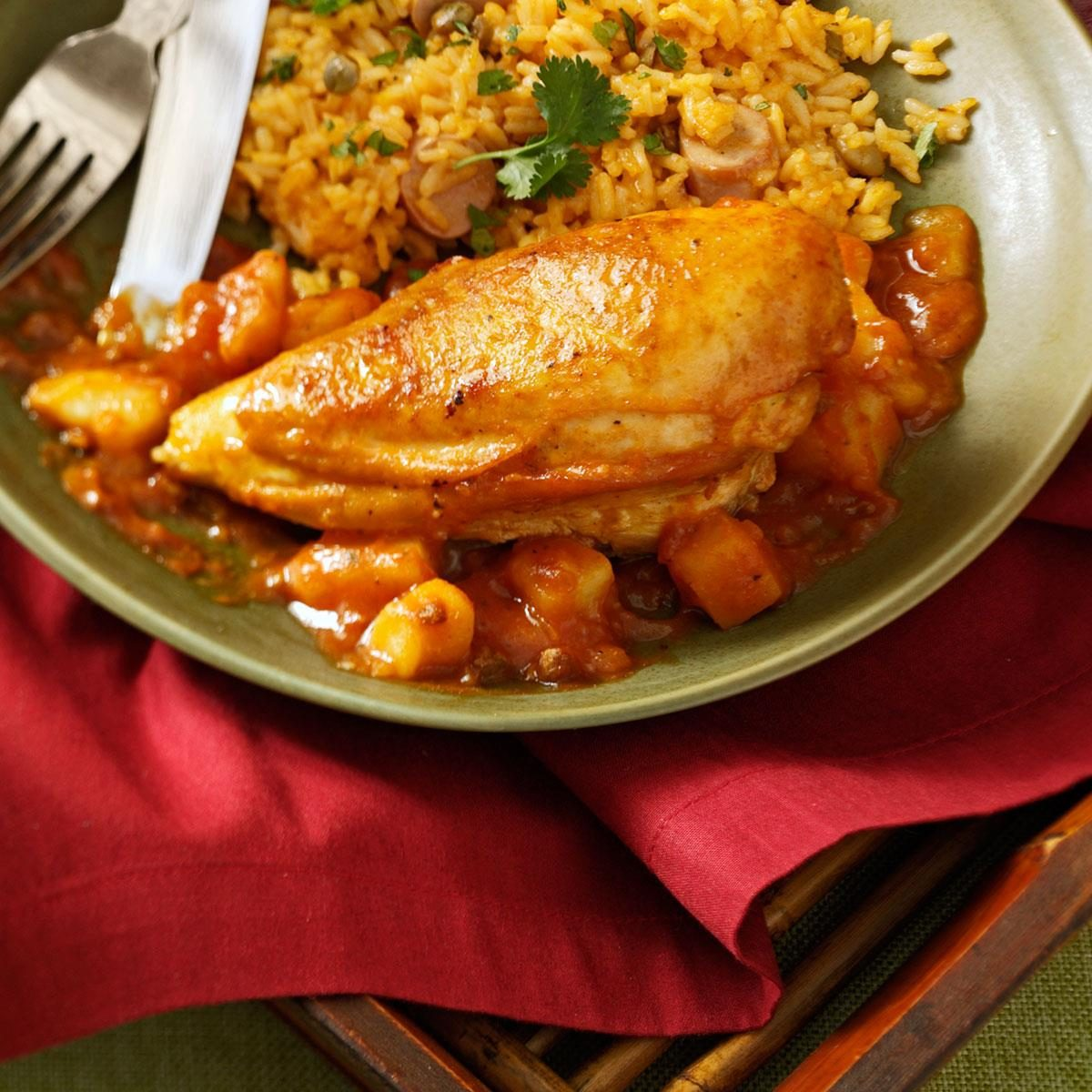 pollo guisado chicken stew recipe taste of home