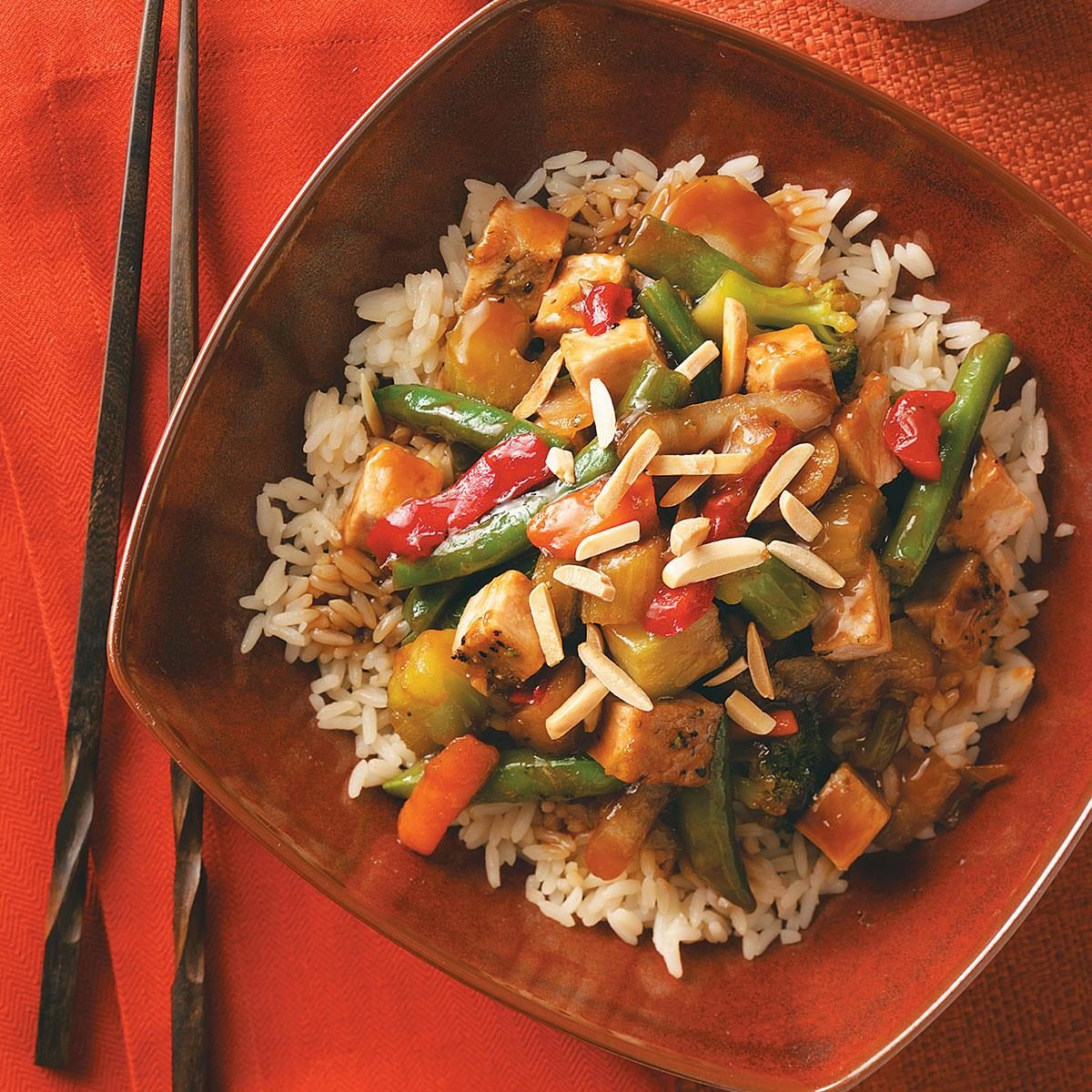 Pork & Vegetable Stir-Fry Recipe