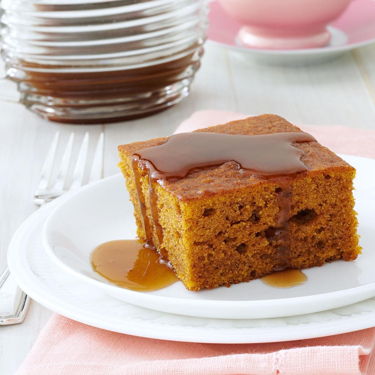 Taste Of Home Ginger Cake And Sauce