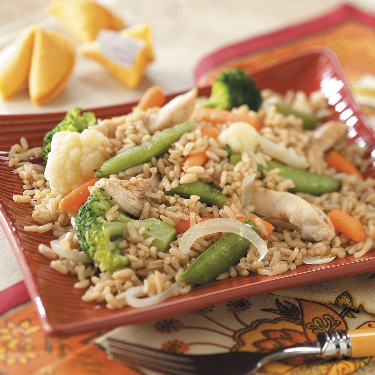 quick asian chicken dinner recipe taste of home