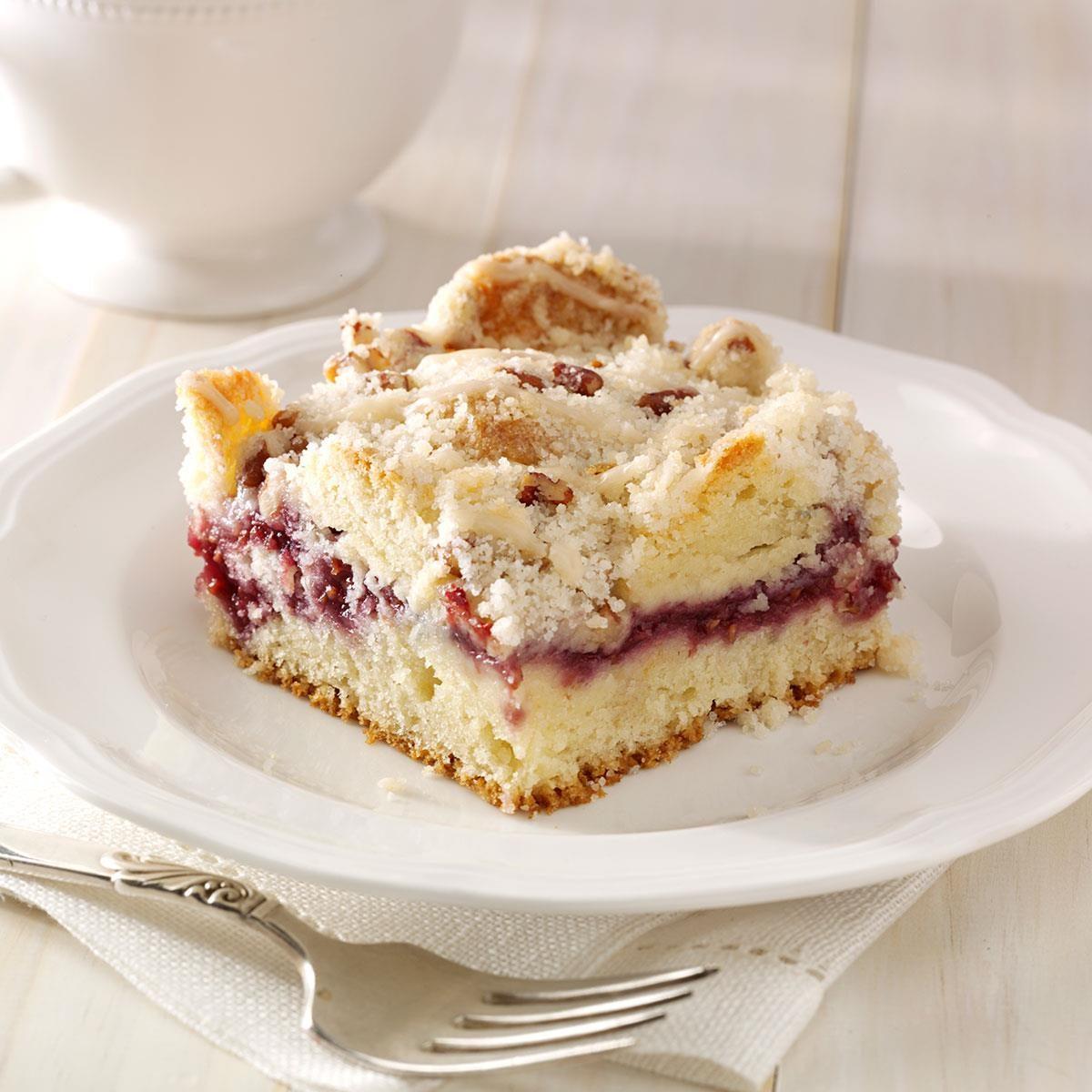 Easy Raspberry Jam Coffee Cake Recipe