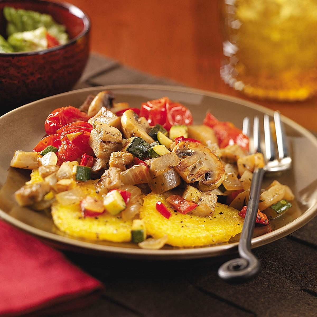 Ratatouille With Polenta Recipe Taste Of Home