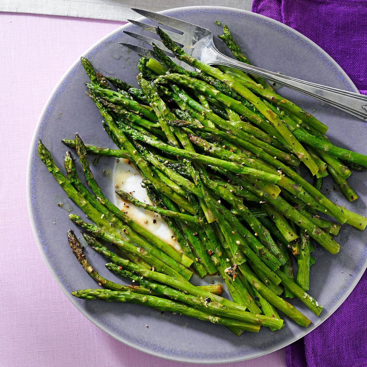 Roasted Asparagus Salad Recipe Taste Of Home